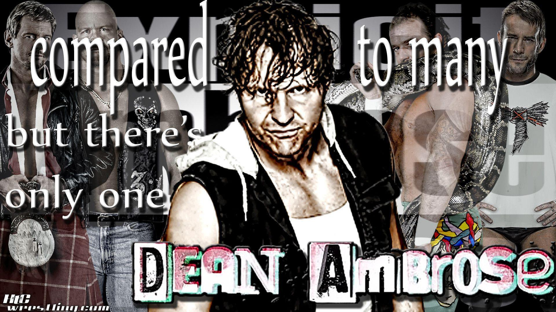 Wallpapers of the Week: One & Only Dean Ambrose Wallpapers