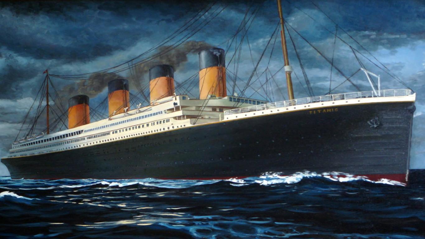 Stunning Ship Titanic Wallpaper - Titanic Wallpaper, movie titanic ...