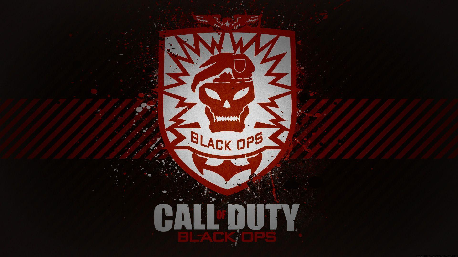 Call Of Duty Black Ops Logo Wallpapers