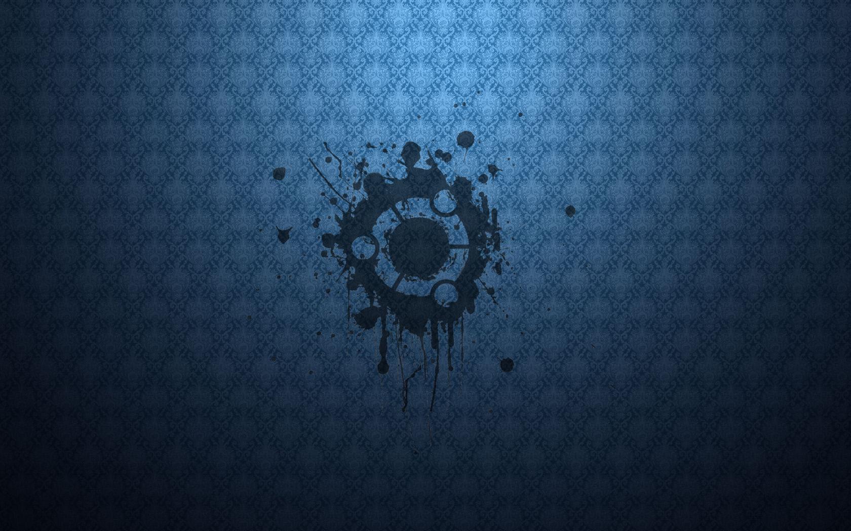 Dark Blue Ubuntu Wallpapers Full Hd Wallpapers