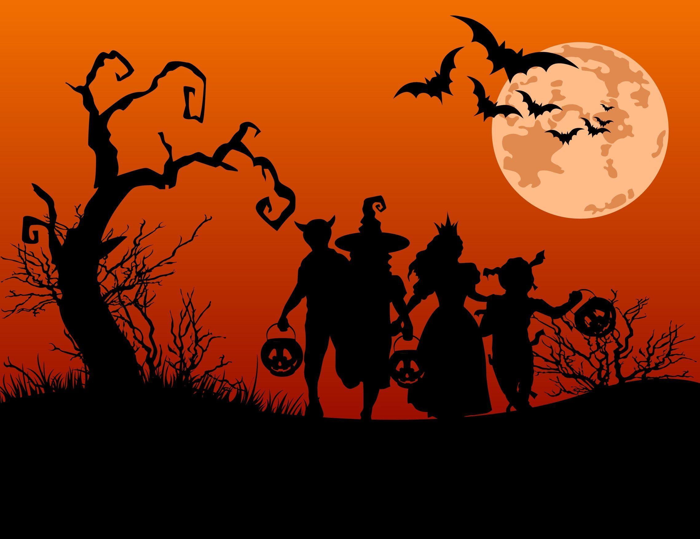 Best Halloween Wallpapers, Graphics and Vectors By Depositphotos ...