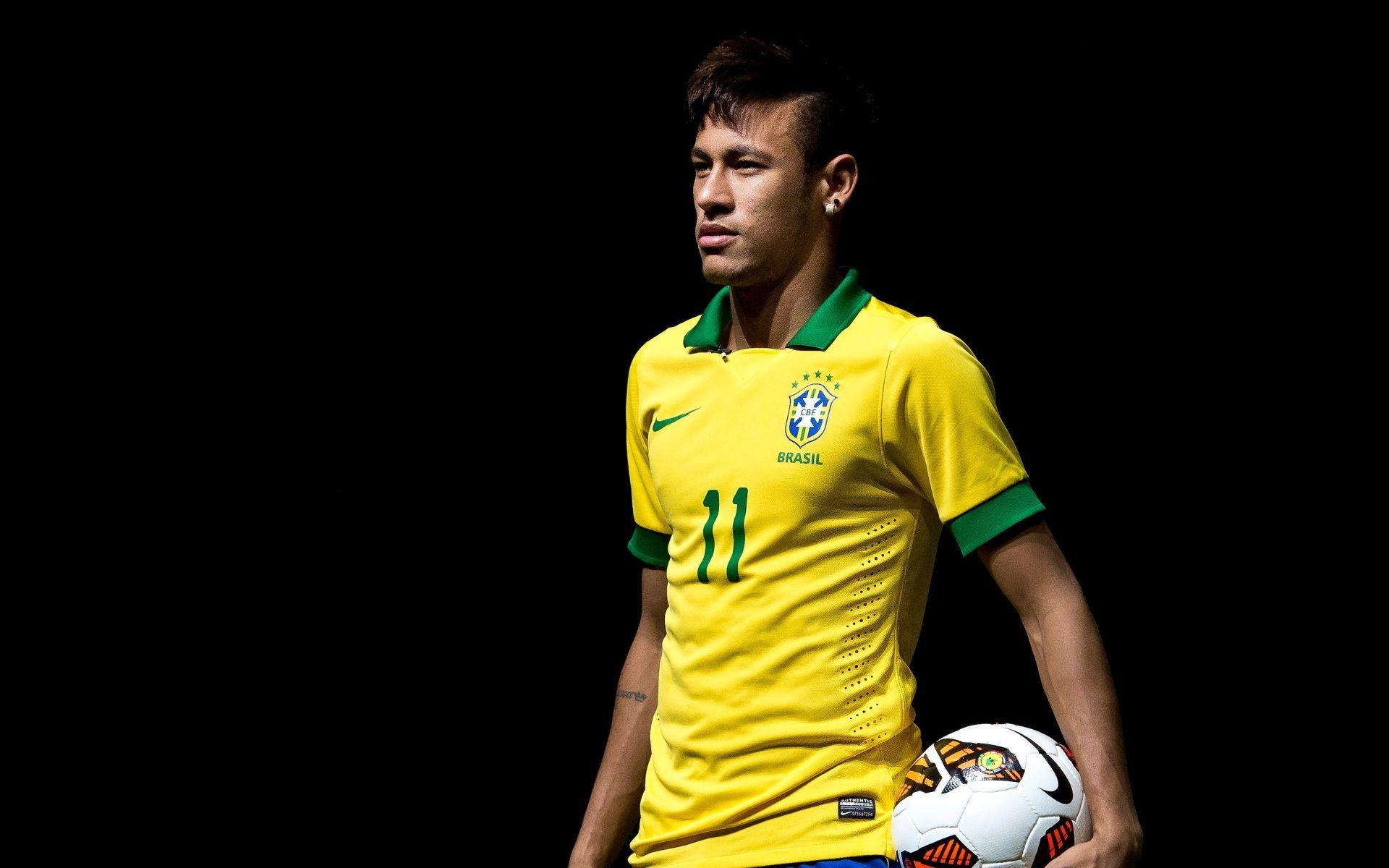 Neymar Brazil World Cup 2014 HD Wallpapers