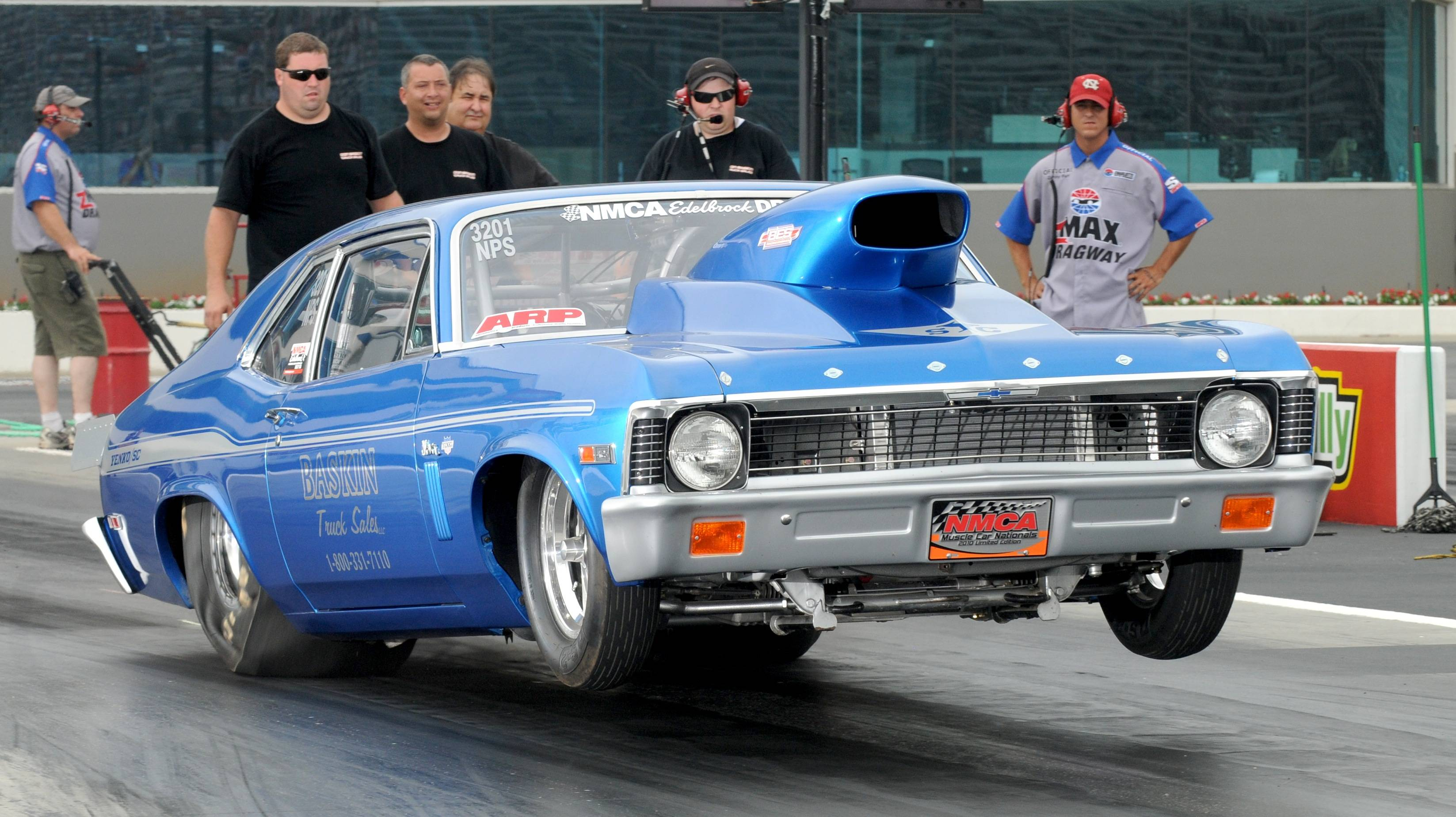 Chevrolet nova drag racing wheelie race track hot rod muscle cars ...