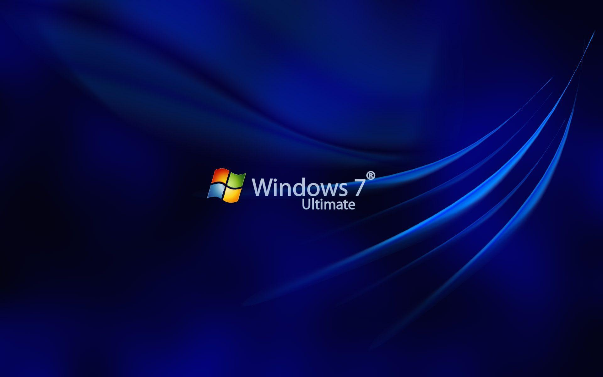 Wallpapers For > Windows 7 Ultimate Blue Wallpaper · Download