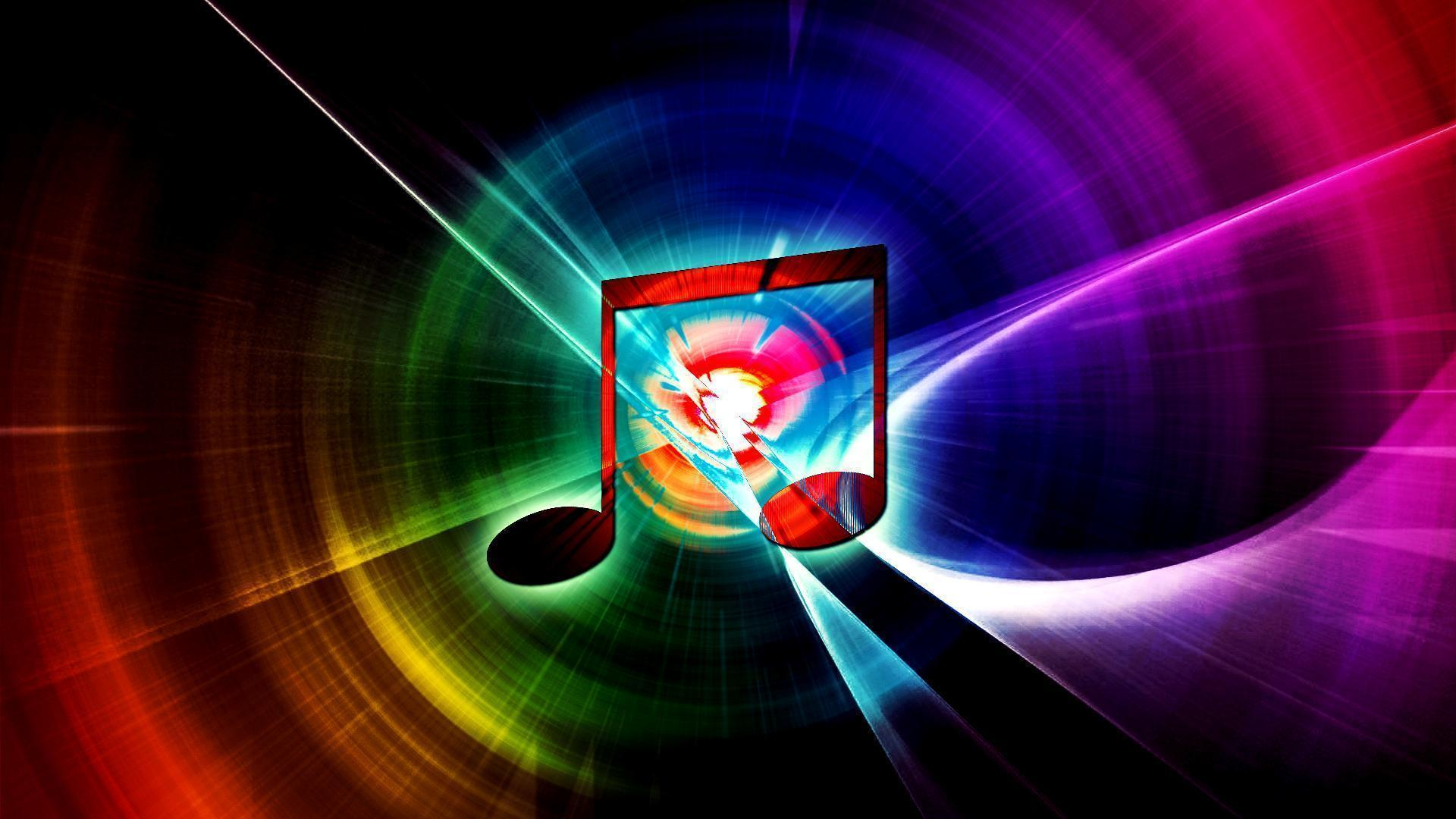 Rainbow Music Wallpaper Raven9000111 Request By Hardii: Music Pictures Wallpapers