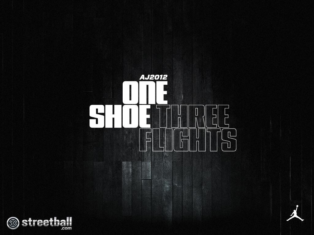 Air Jordan 2012 Black Wallpaper - Streetball