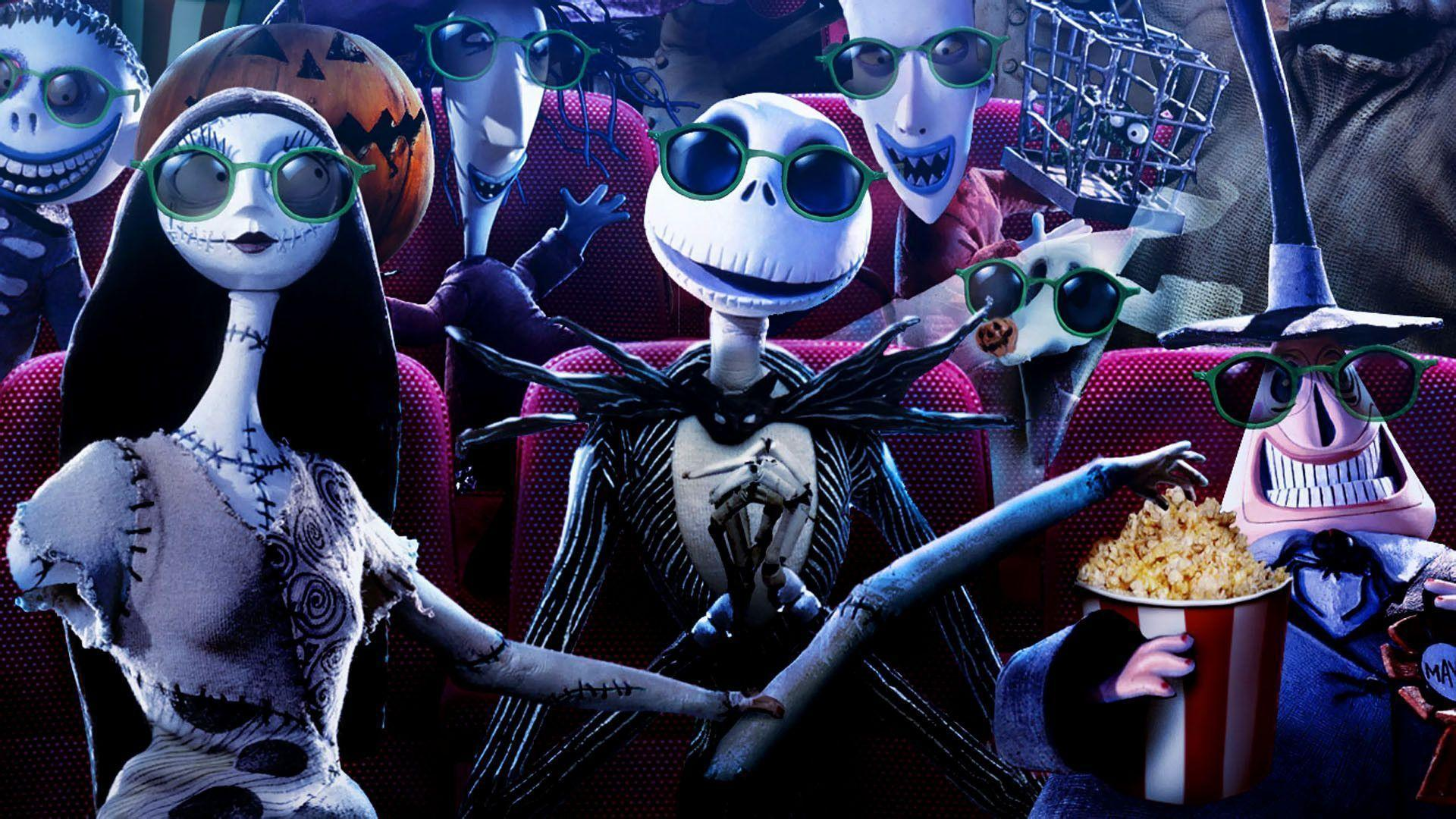 Wallpapers For > Nightmare Before Christmas Wallpapers 1920x1080