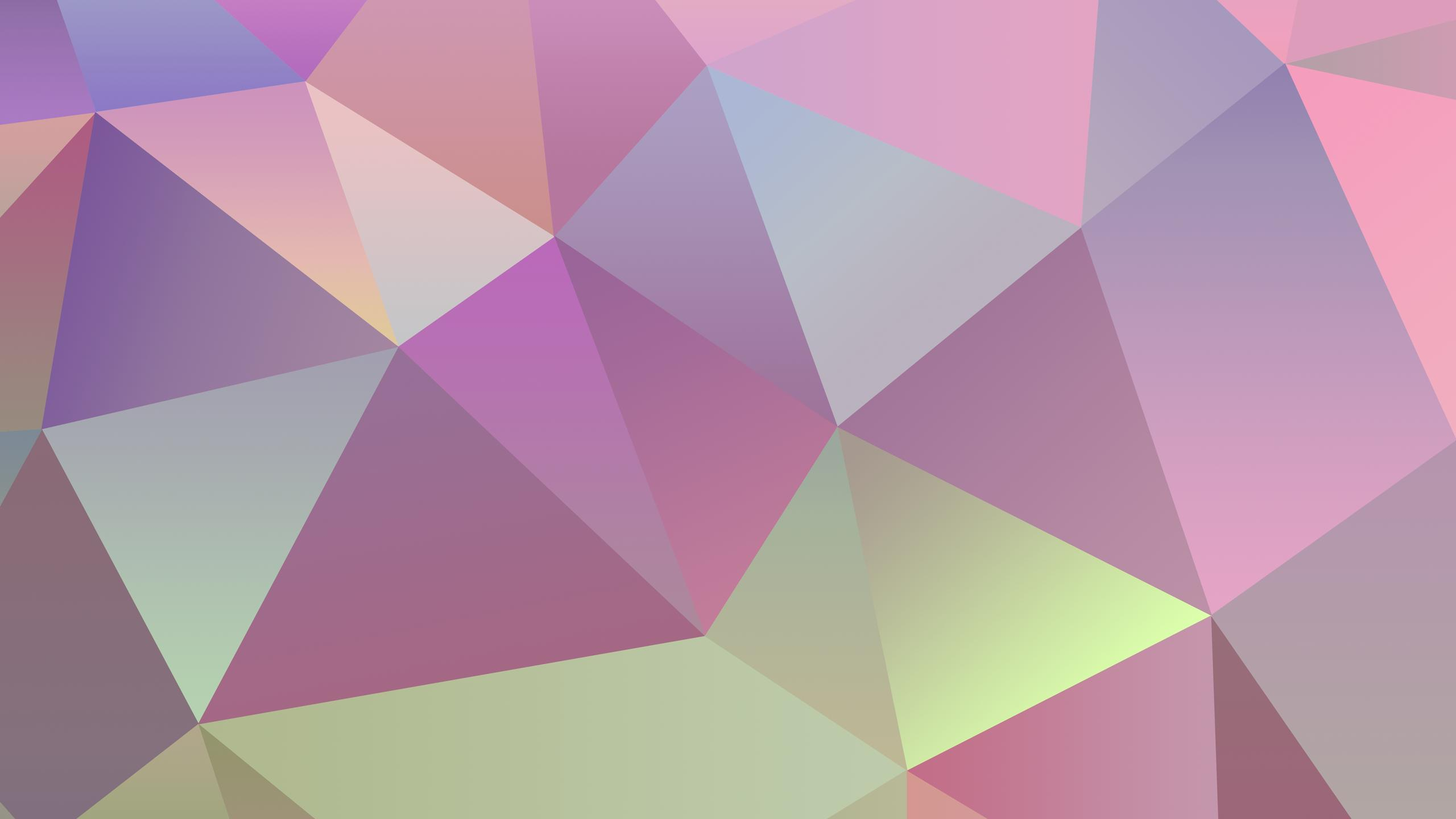 pastel polygon wallpaper