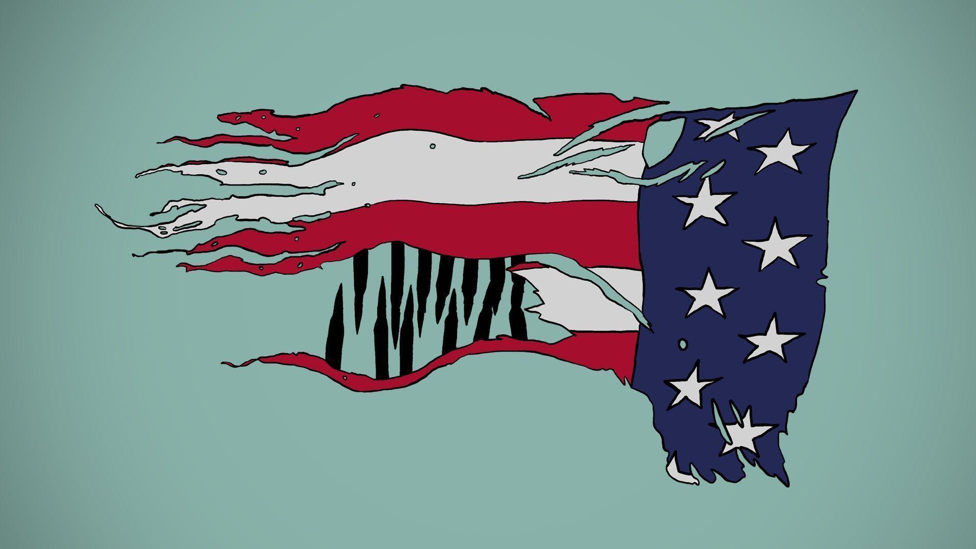 USA flag wallpaper 1080p by lechmarcin on DeviantArt