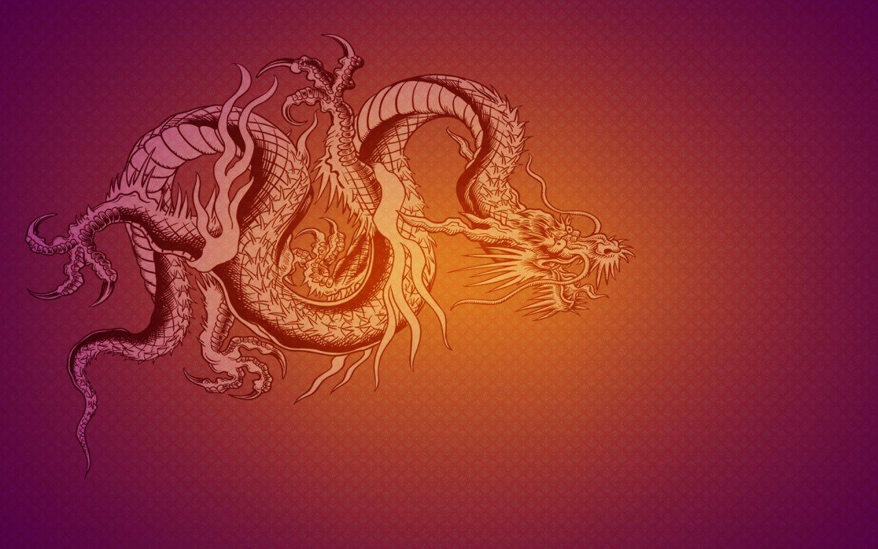 red chinese dragon wallpaper -#main
