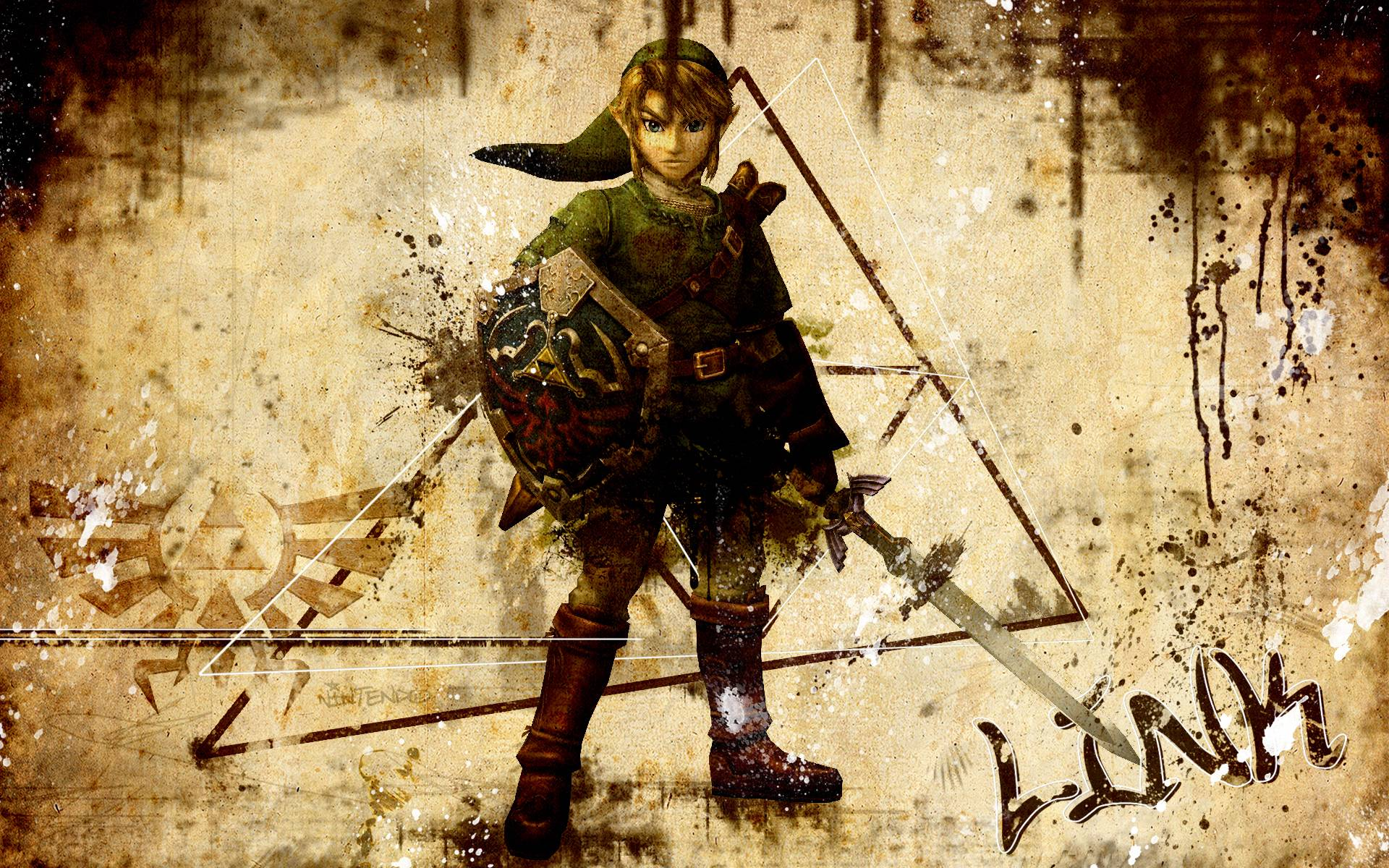 Zelda Link Wallpapers Wallpaper Cave