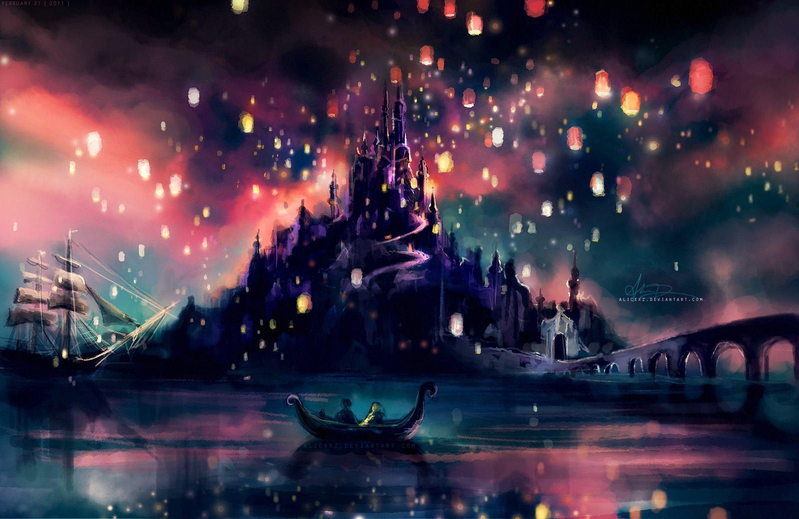 Disney Tangled Wallpapers Wallpaper Cave