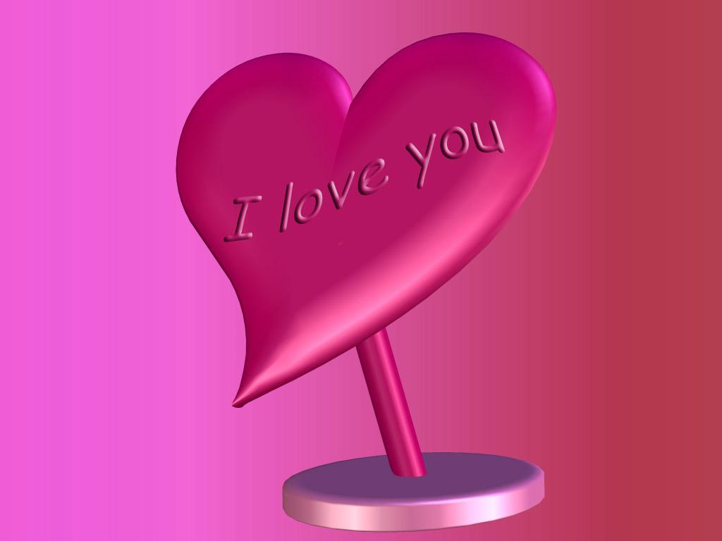 Wallpaper download love you - I Love You Wallpaper