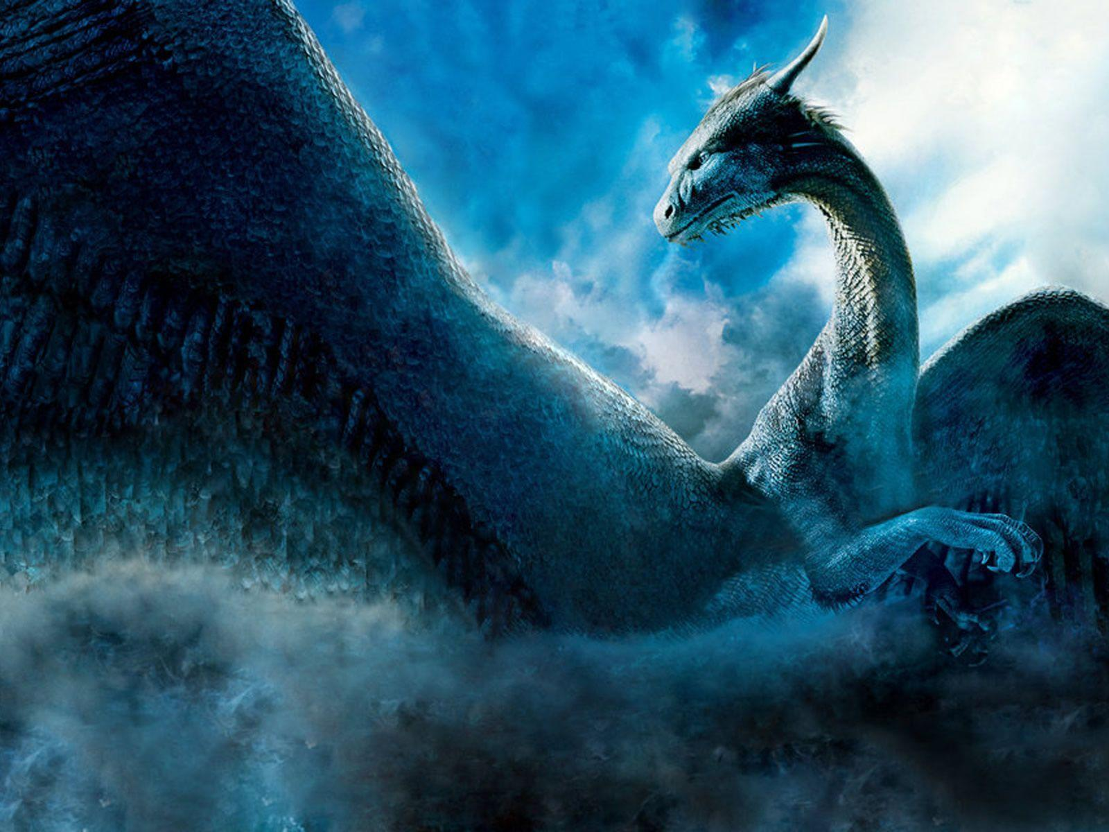Wallpapers For > Black Blue Dragon Wallpapers