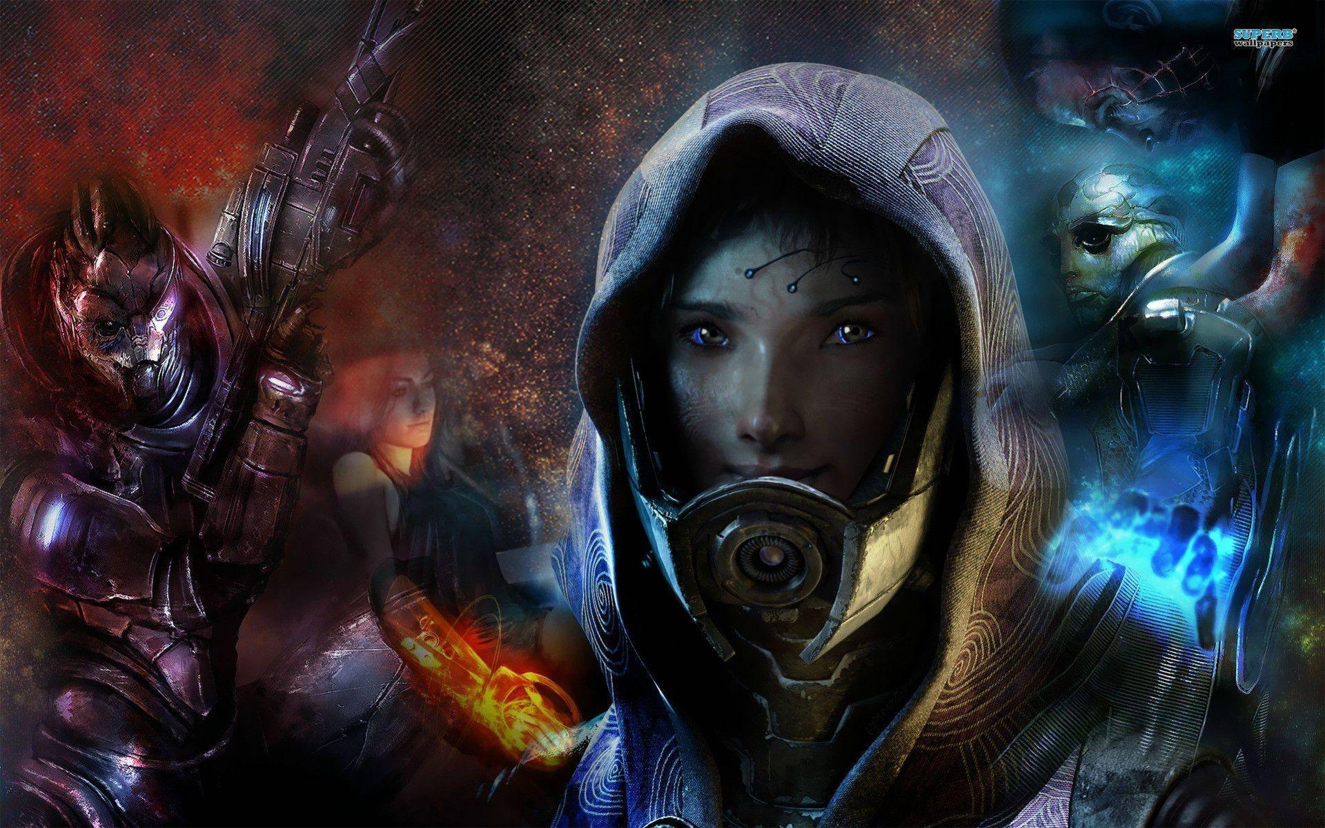 Mass Effect Tali Wallpapers - Wallpaper Cave