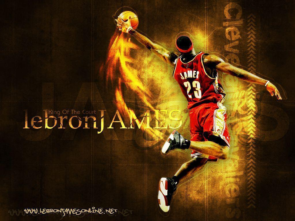 Wallpapers For > Lebron James Wallpapers Signature Dunk