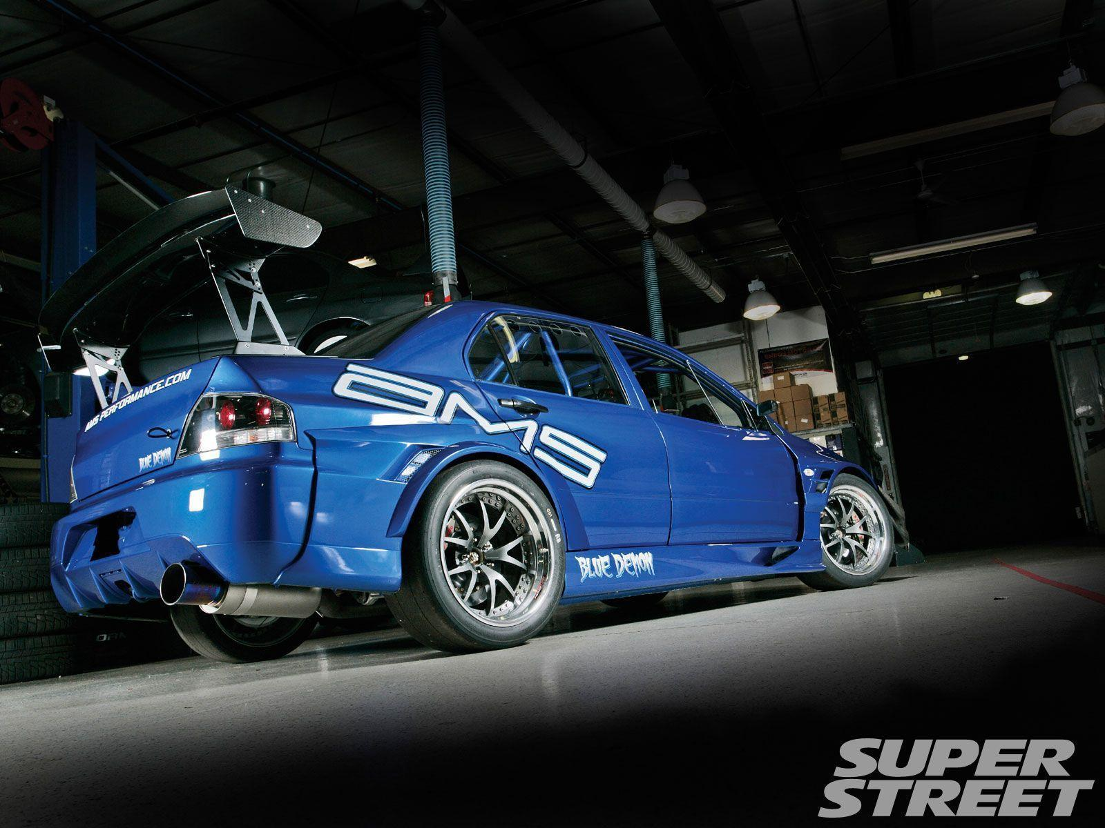 mitsubishi evo 9 blue 7oge6vnz fewmocom cool car wallpaper