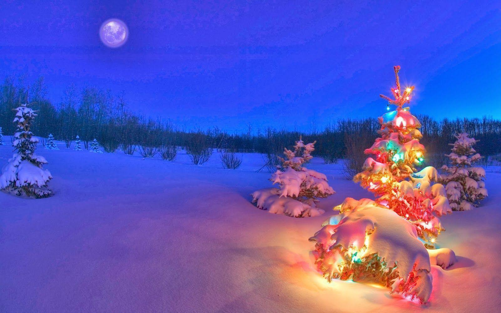 Snowy christmas wallpapers wallpaper cave