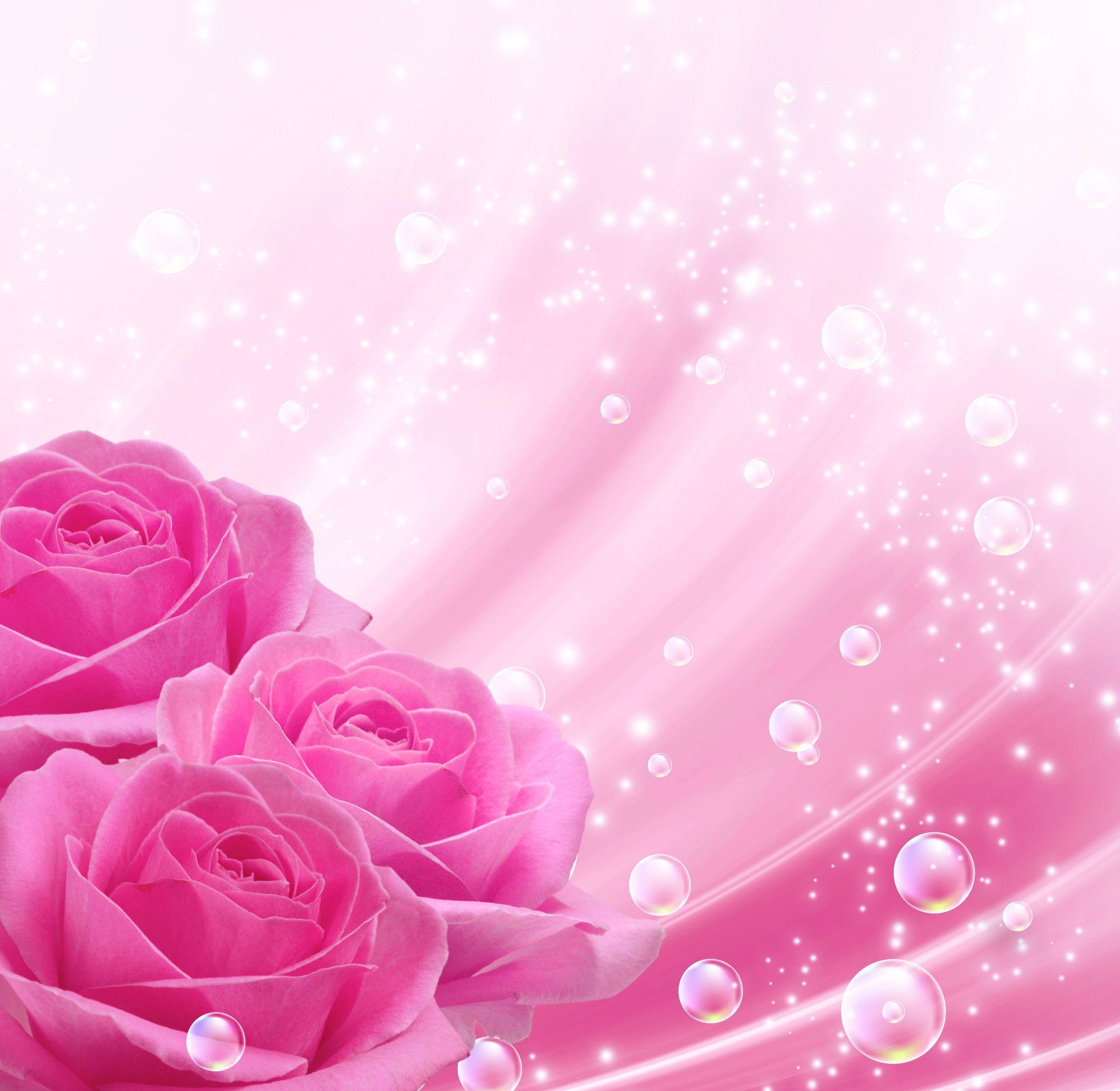Pink backgrounds wallpaper cave - Pink roses background hd ...