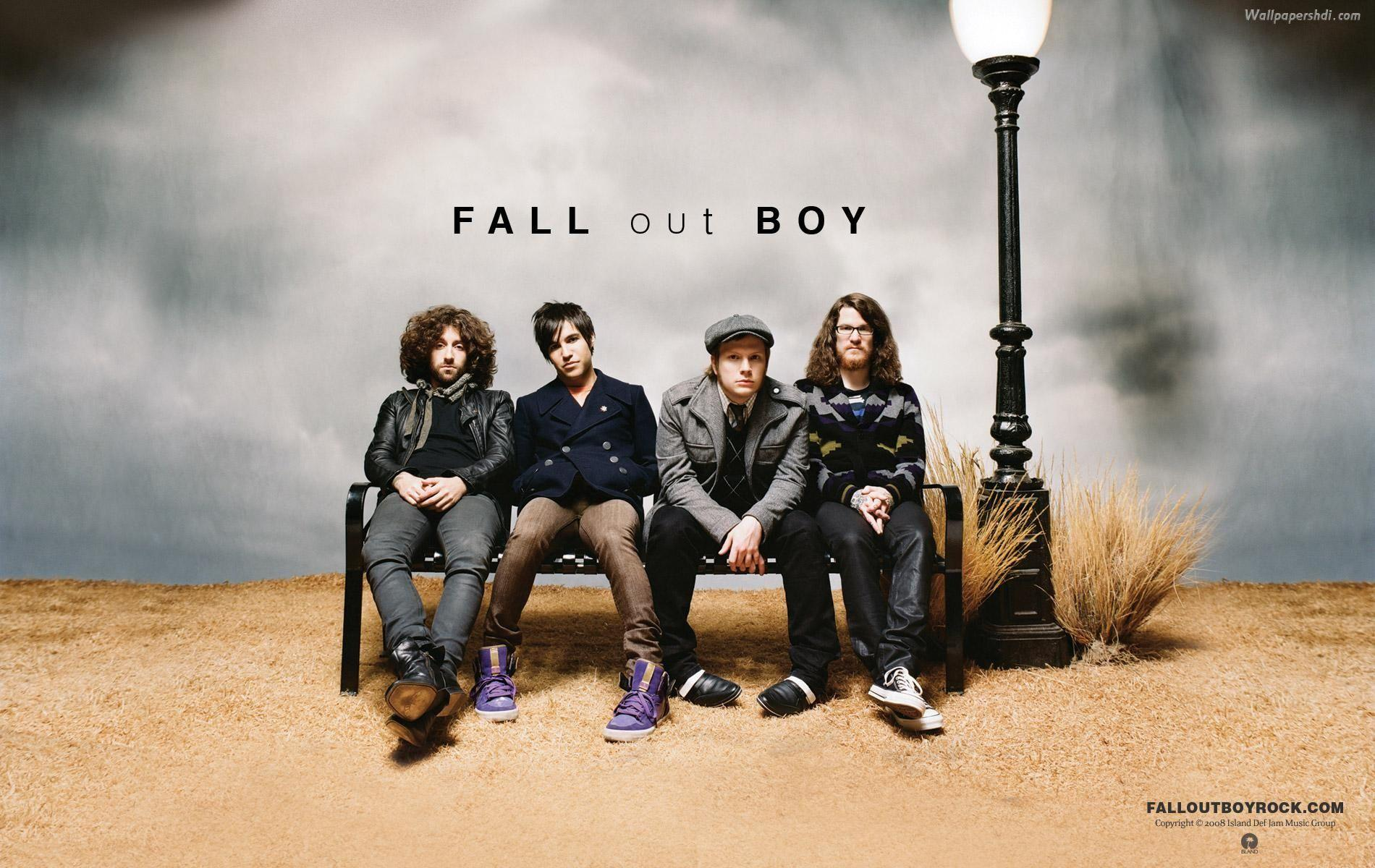 Fall Out Boy Logo Wallpapers Wallpaper Cave