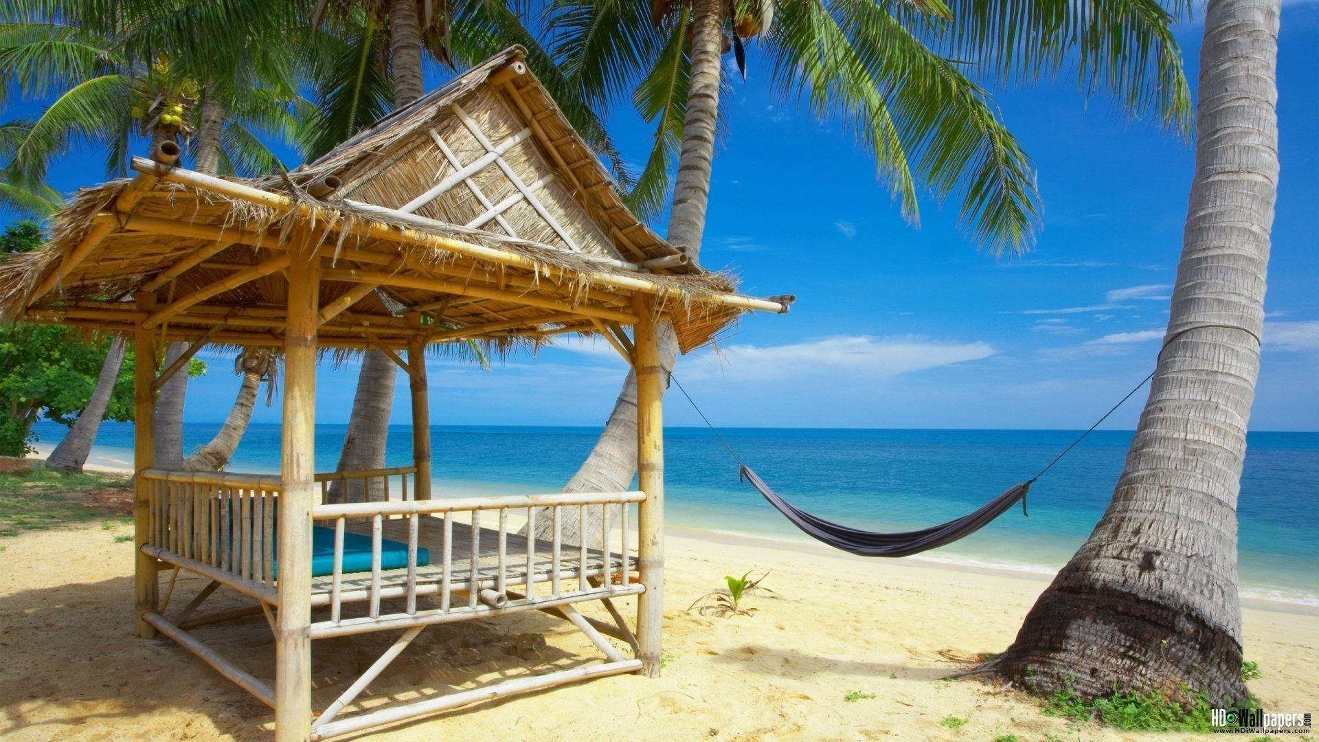 Tropical Beach Resort Wallpapers for Desktop Background Full ...