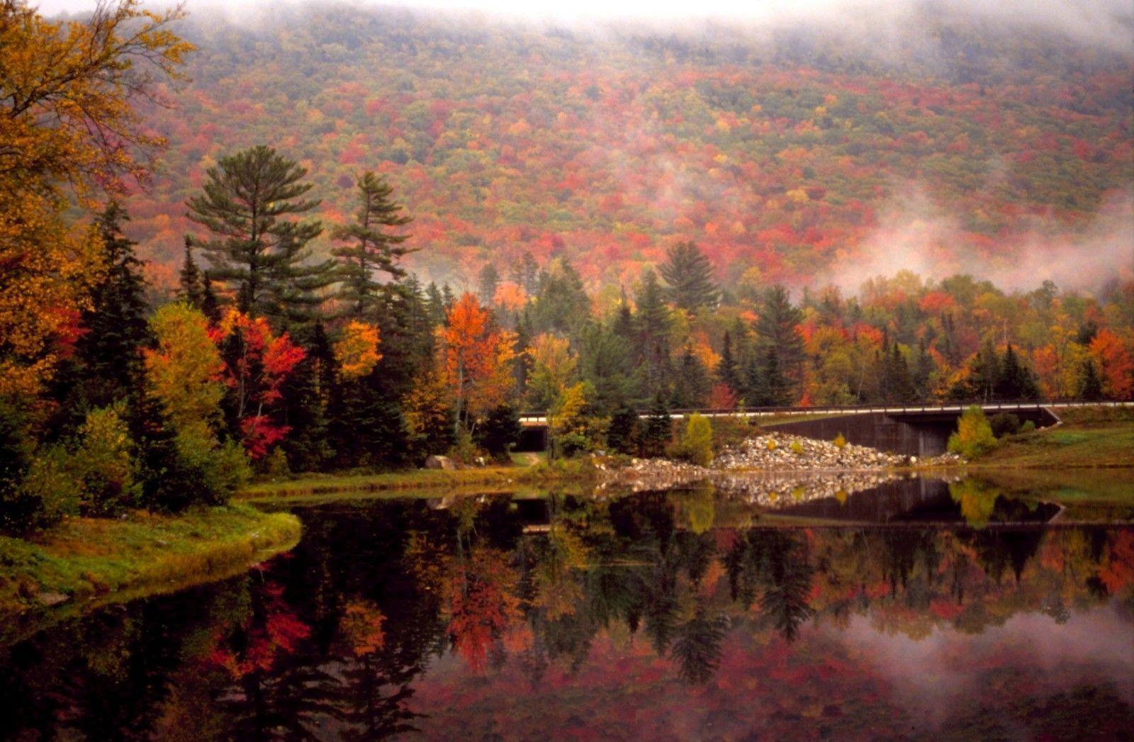 New England Fall Wallpapers Wallpaper Cave