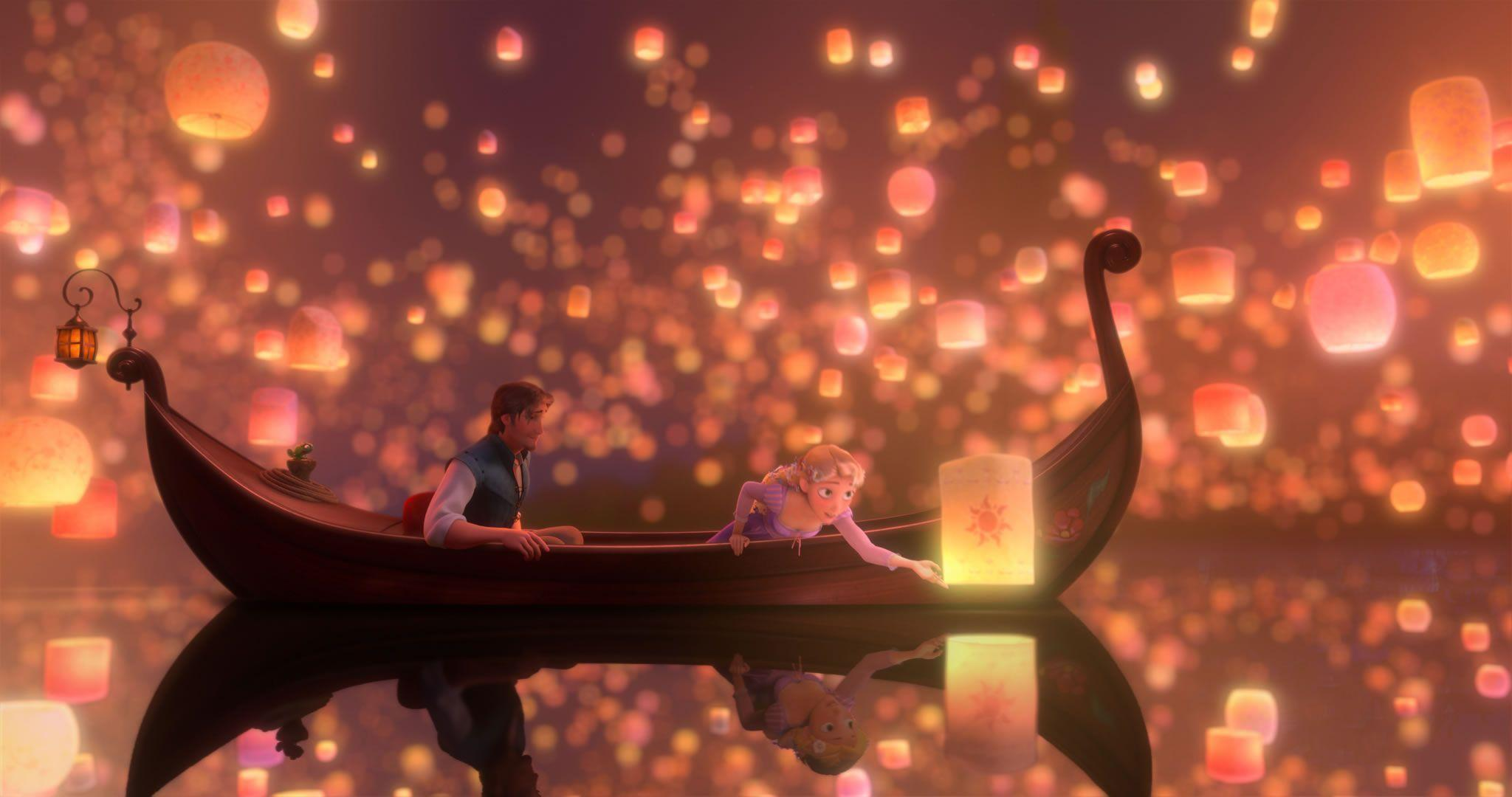 Over 40 Images from Walt Disney's TANGLED