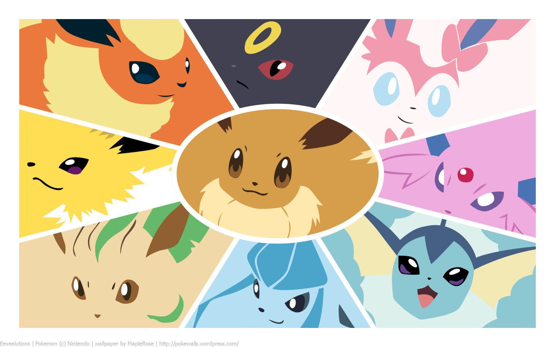 pokemon eevee wallpapers wallpaper cave