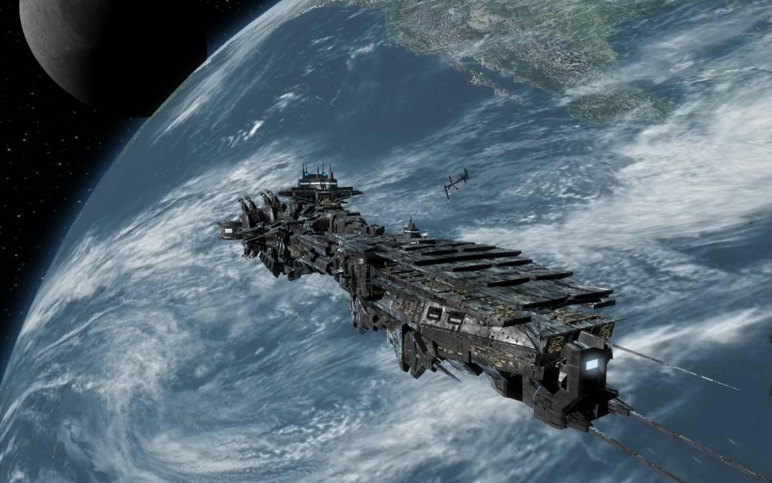 spaceship Computer Wallpapers, Desktop Backgrounds 2560x1600 Id ...