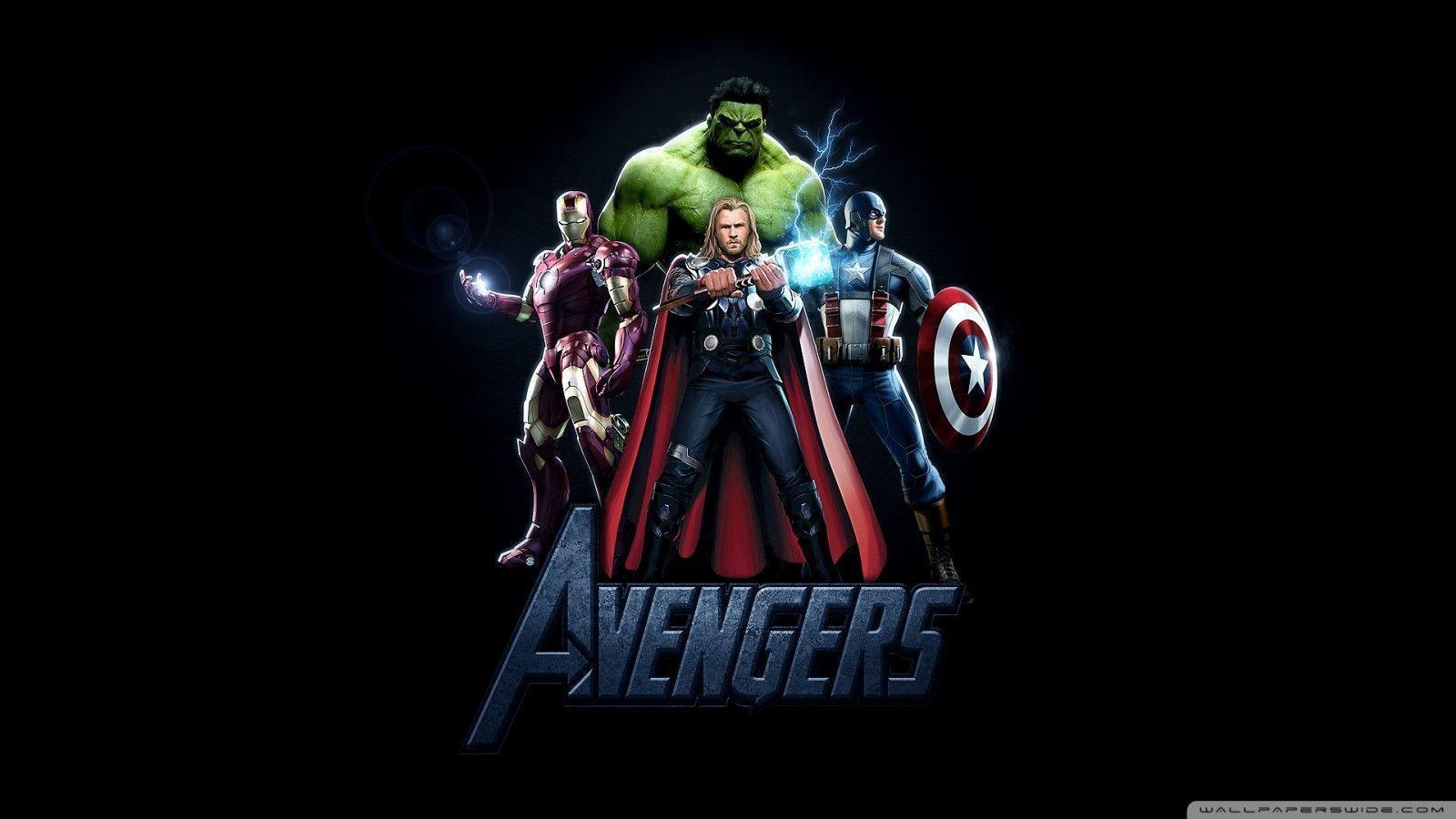 Superheroes logos wallpapers wallpaper cave - All marvel heroes wallpaper ...