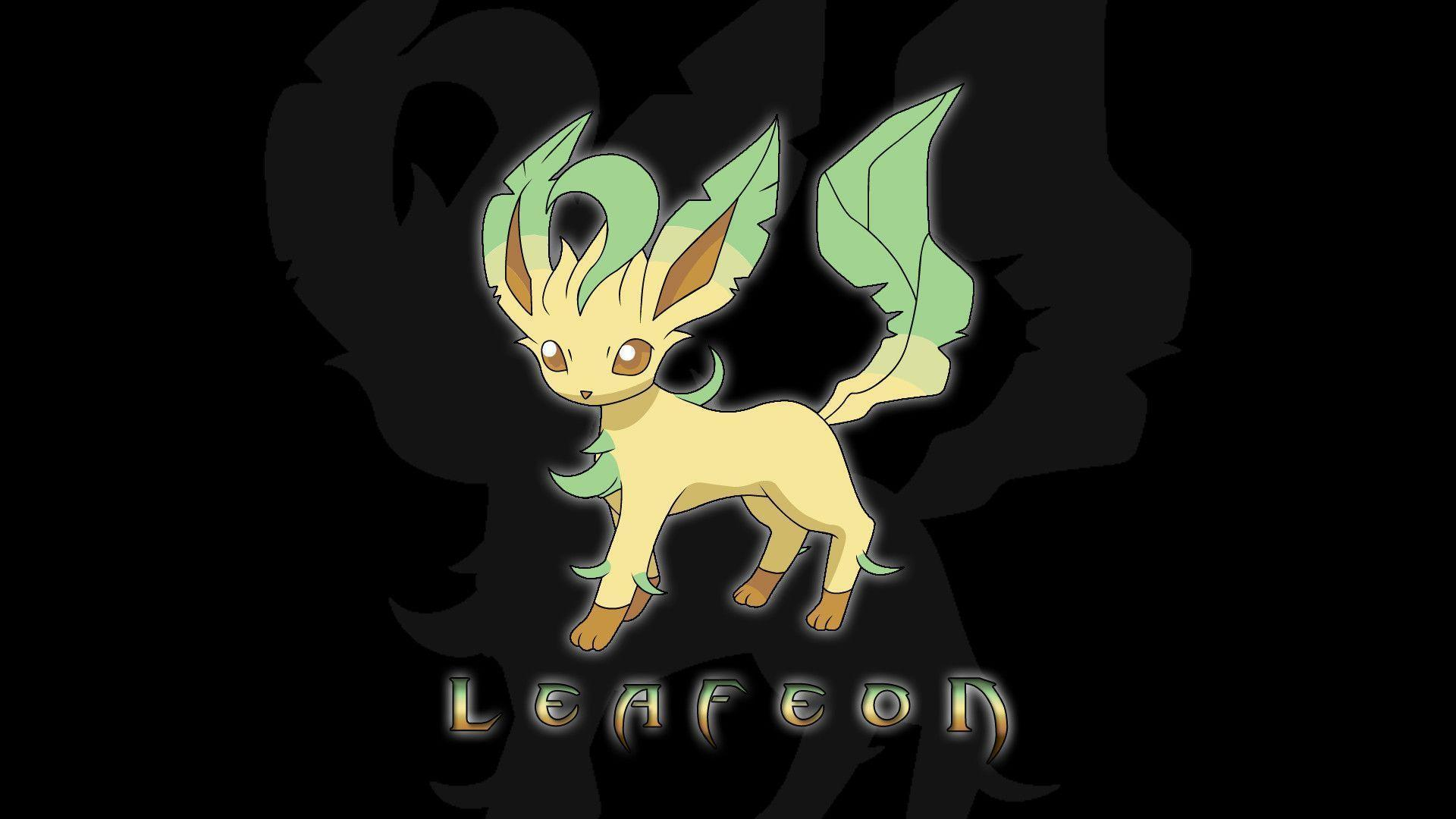 Wallpapers For > Pokemon Leafeon Wallpapers