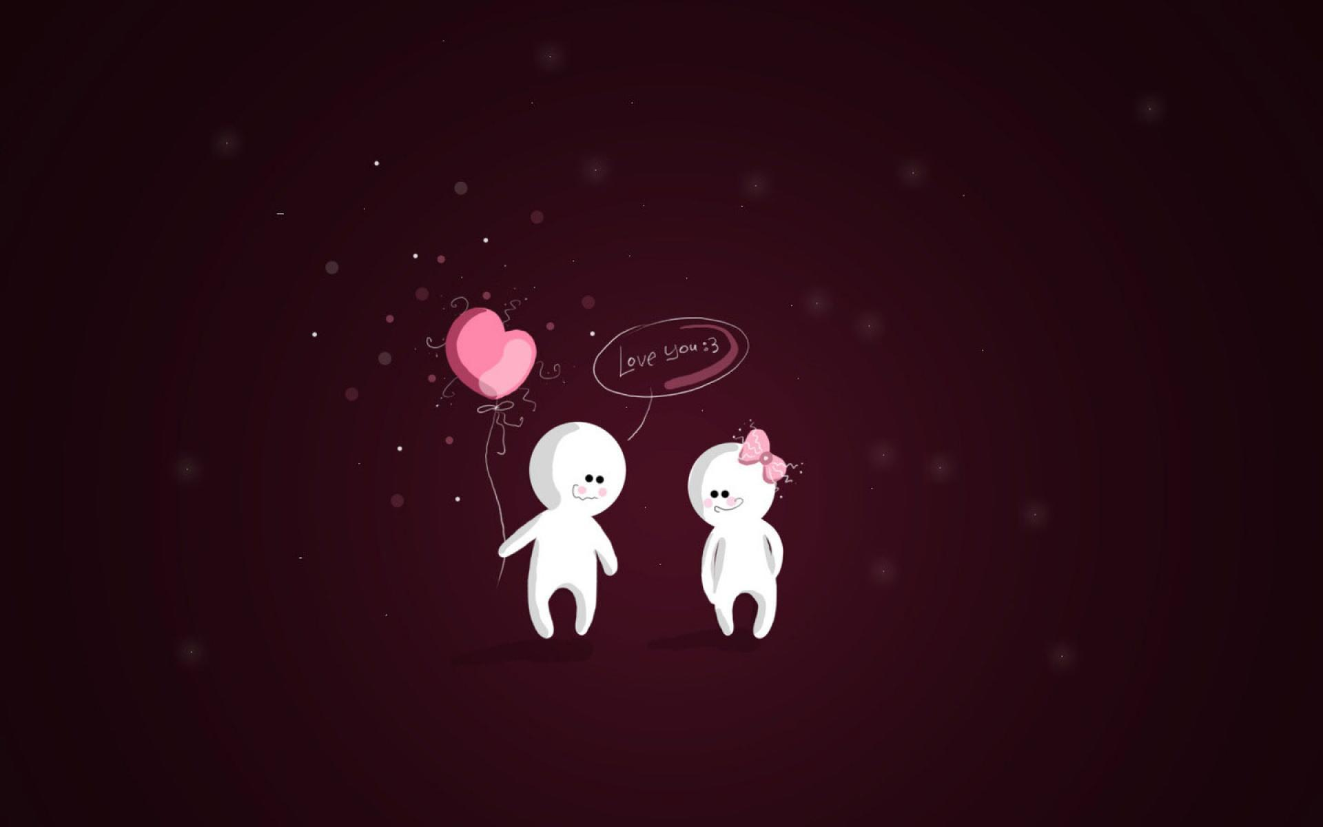Love couple Wallpaper For Pc : Love cartoon Wallpapers - Wallpaper cave