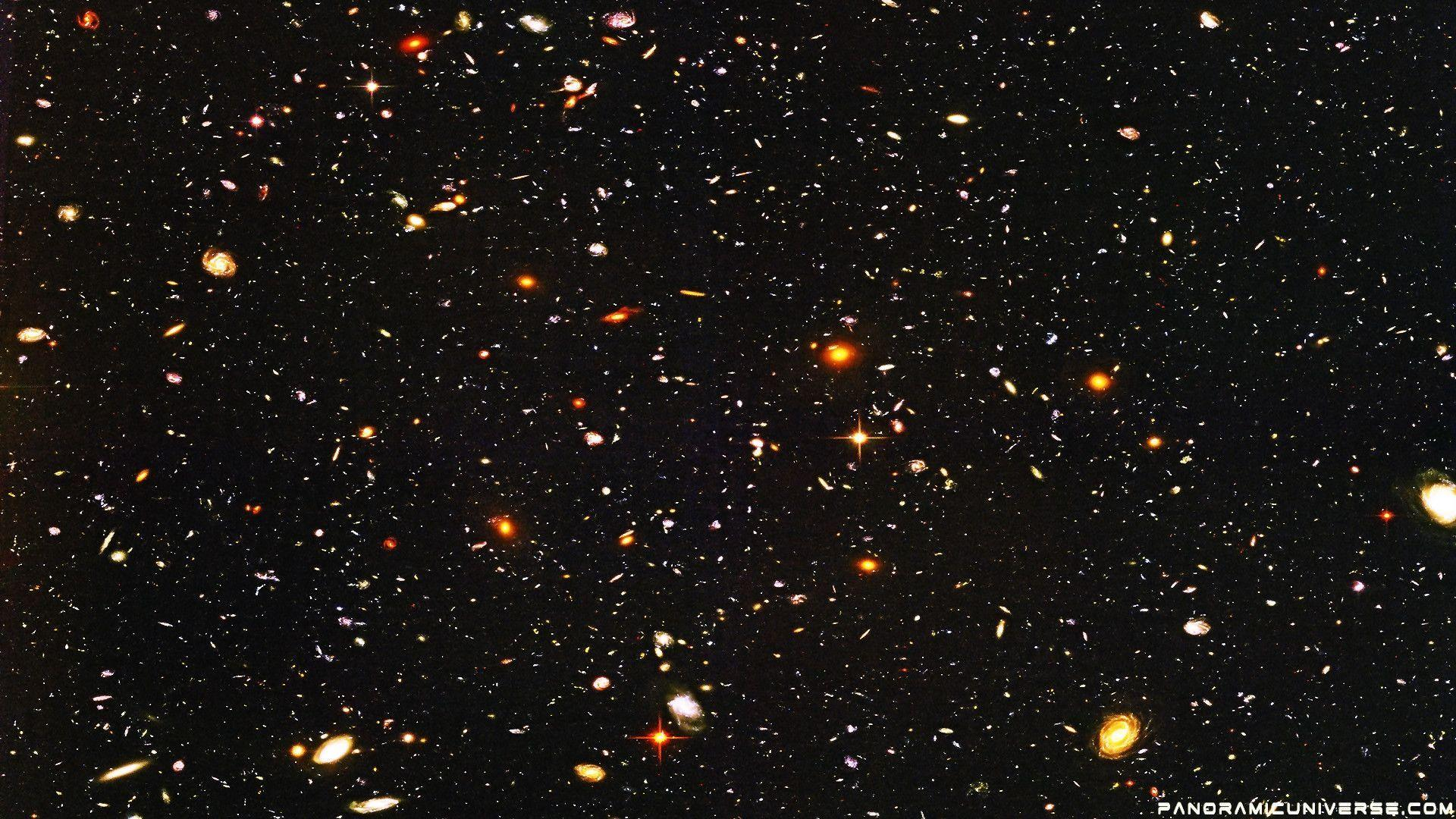 hubble deep field wallpaper 1600x1200-#9