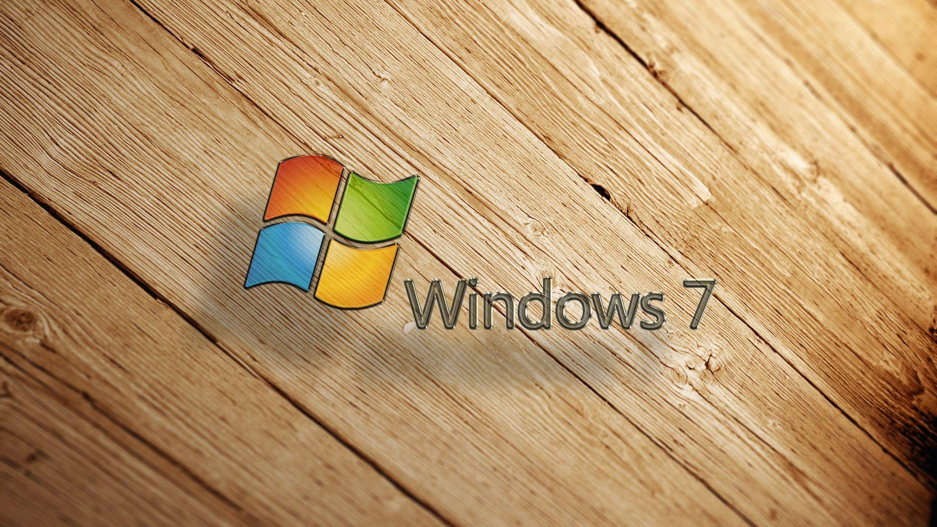 Download Free Wood Window 7 Symbol awesome Backgrounds