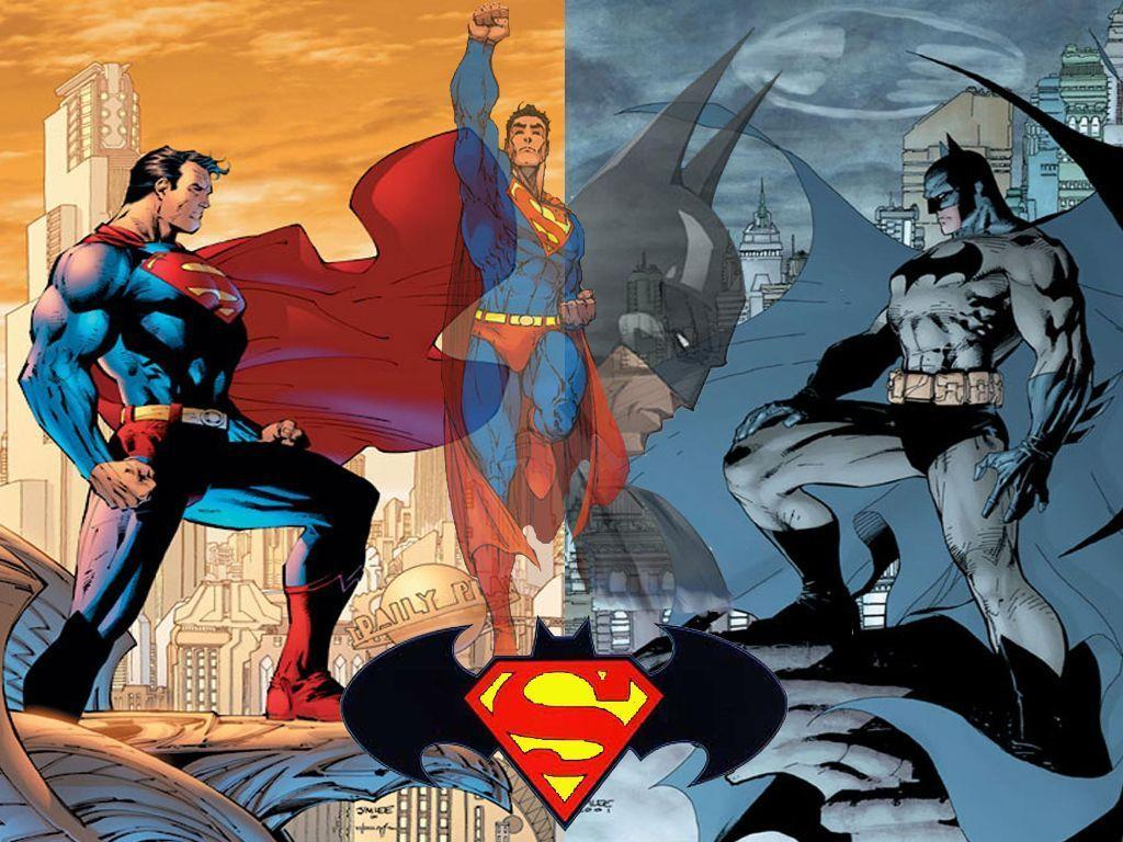 Wallpapers For > Superman Batman Wallpapers
