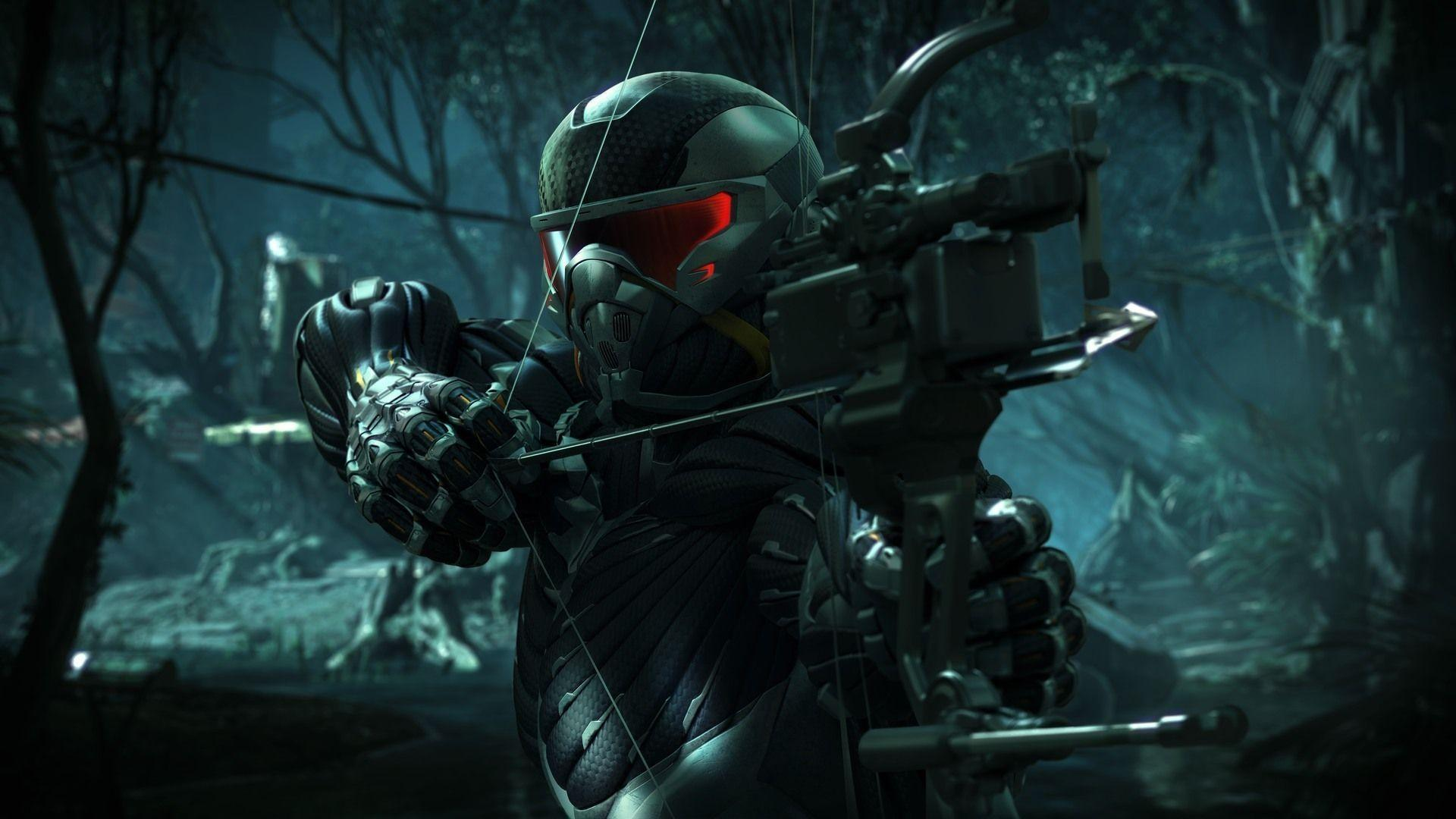 crysis 3 wallpapers bow