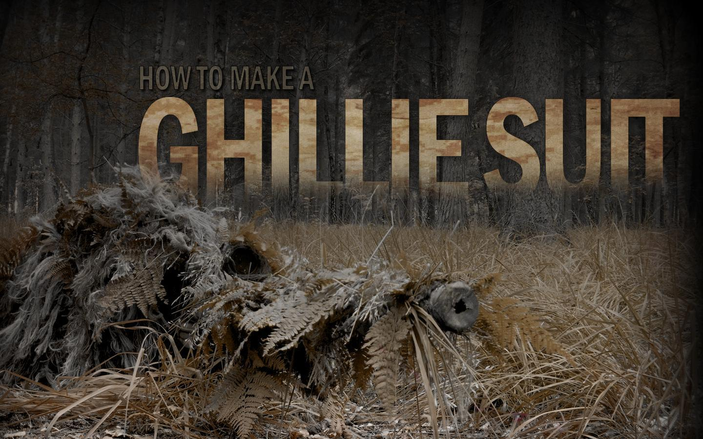 How to make a Ghillie Suit - usCrow