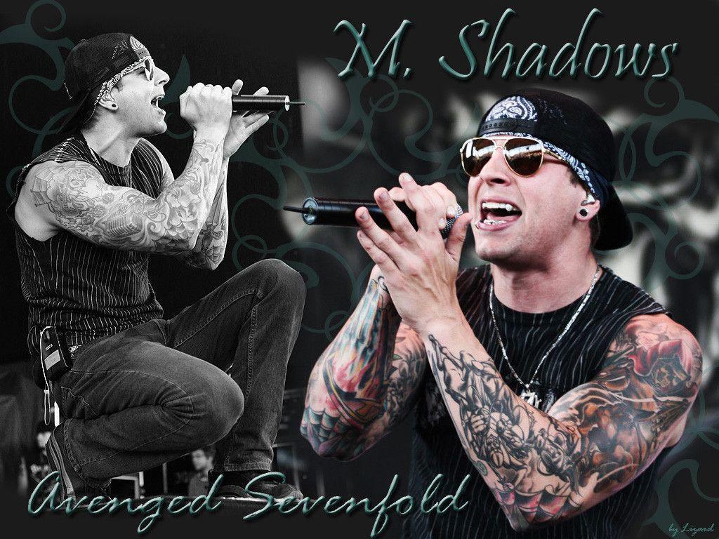 M Shadows Singing Wallpaper M. Shadows Wallpapers ...