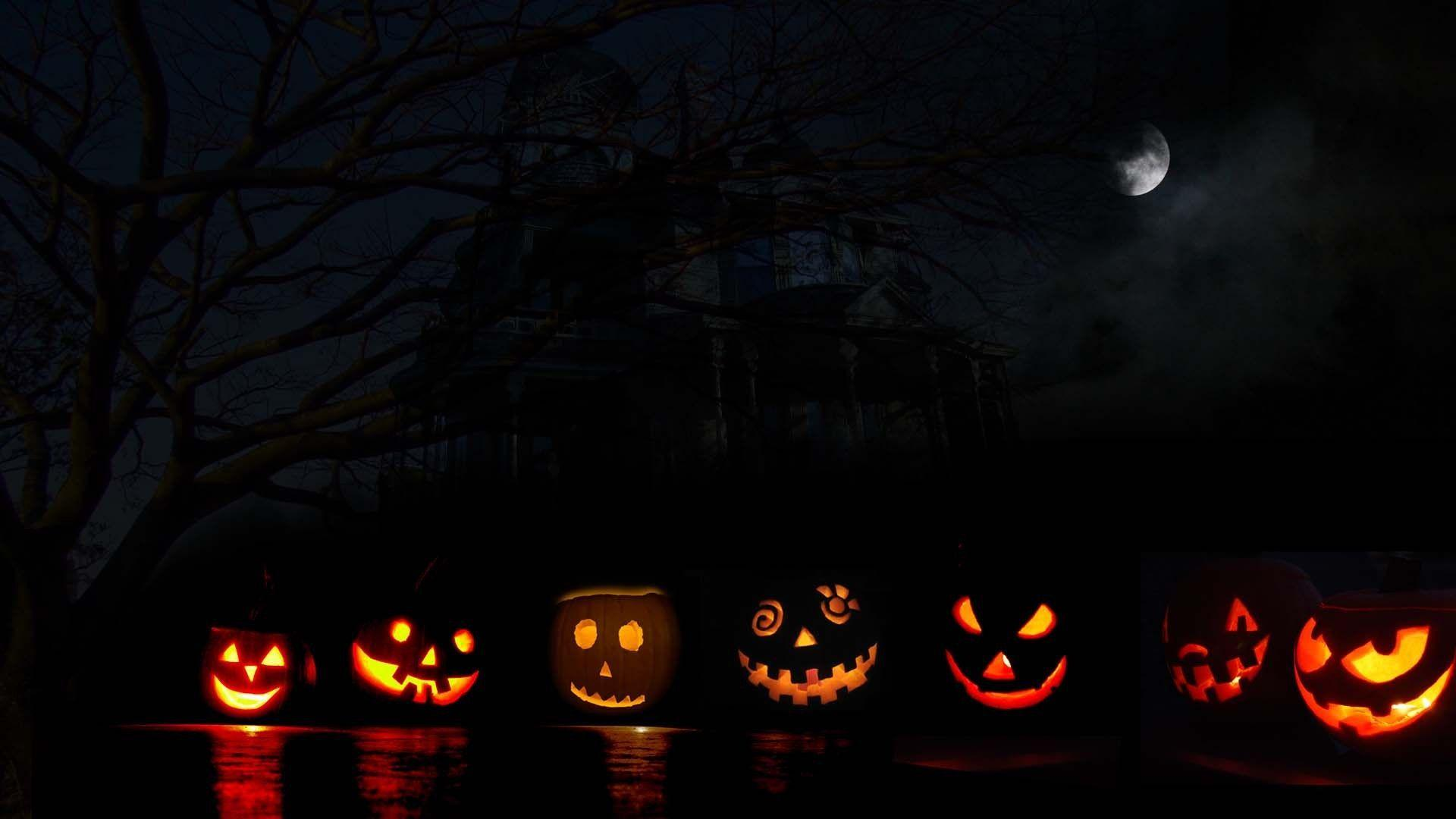 Halloween Pumpkin Carving Desktop Background | Desktop Backgrounds HQ