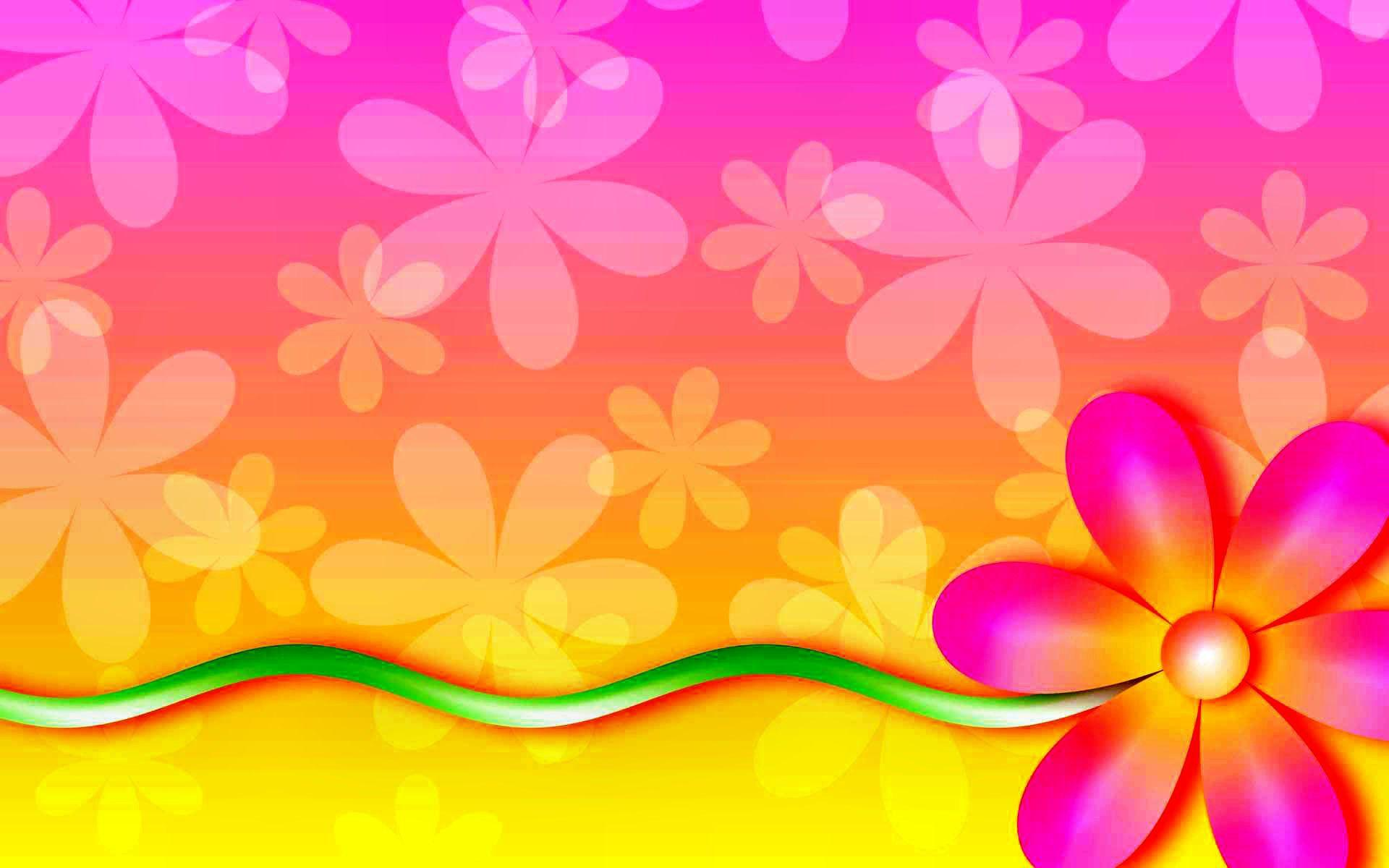 Flower Power Backgrounds Wallpaper Cave