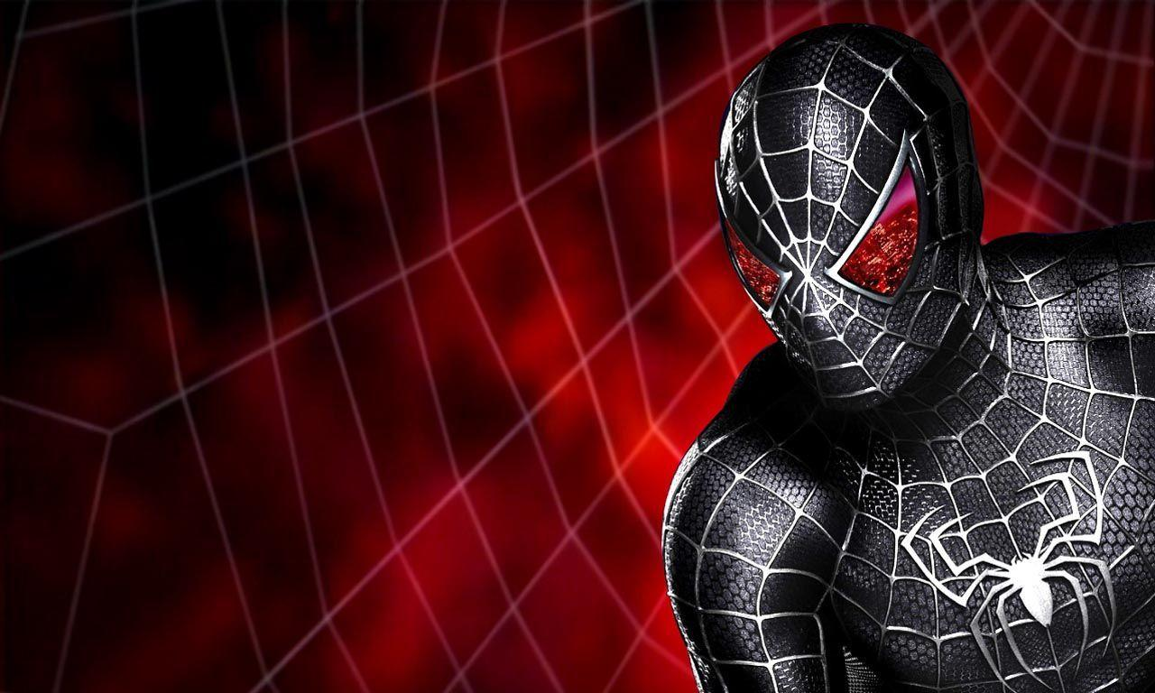 Wallpapers For > Black Spiderman Wallpapers 3d