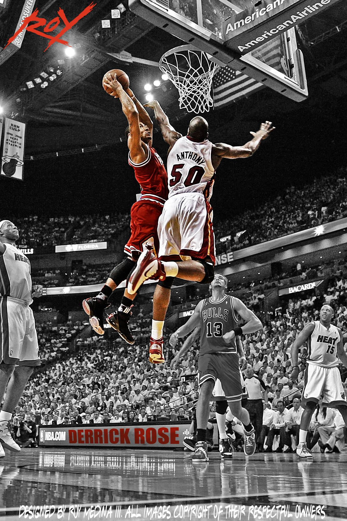 derrick rose wallpaper iphone - photo #19