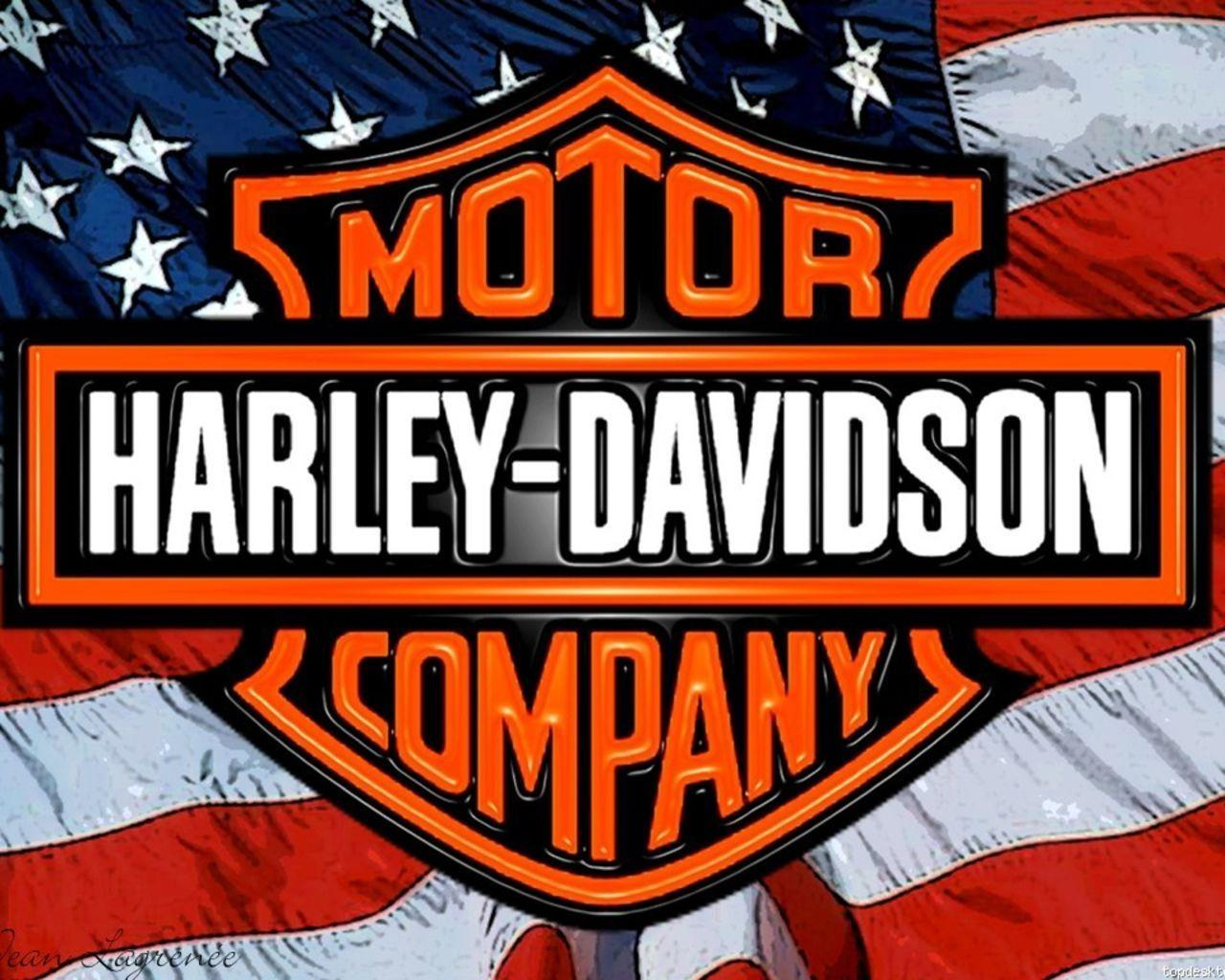 Harley Logo Wallpapers 1280x1024 Wallpapers
