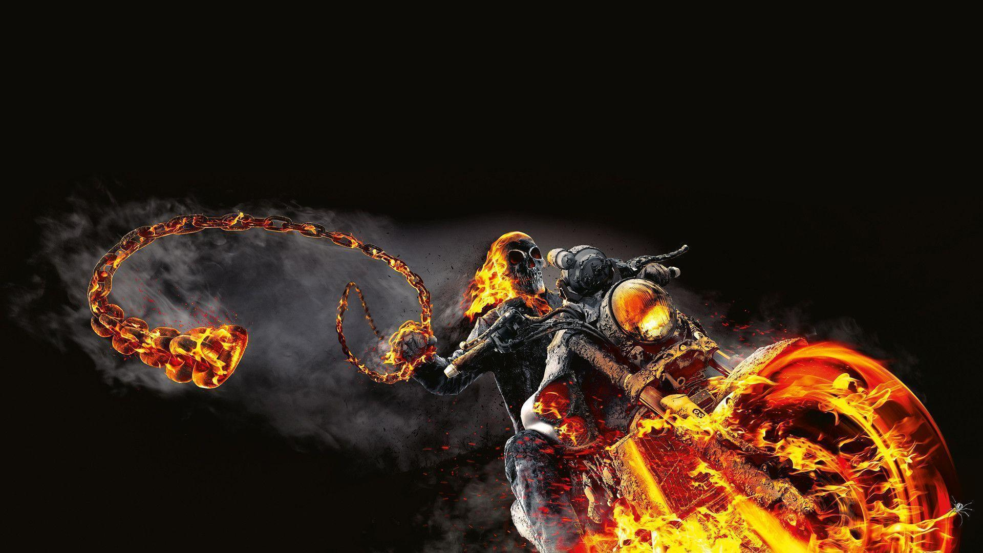 Ghost Rider 2 Wallpapers - Wallpaper Cave