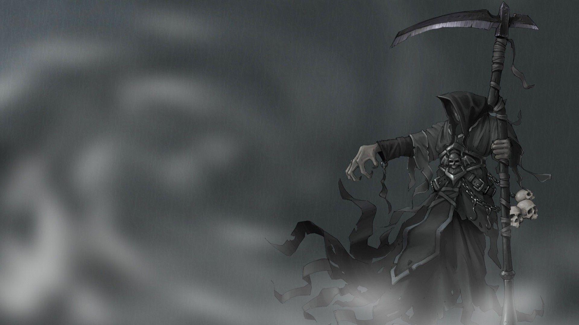 Grim reaper desktop backgrounds wallpaper cave - Reaper wallpaper ...