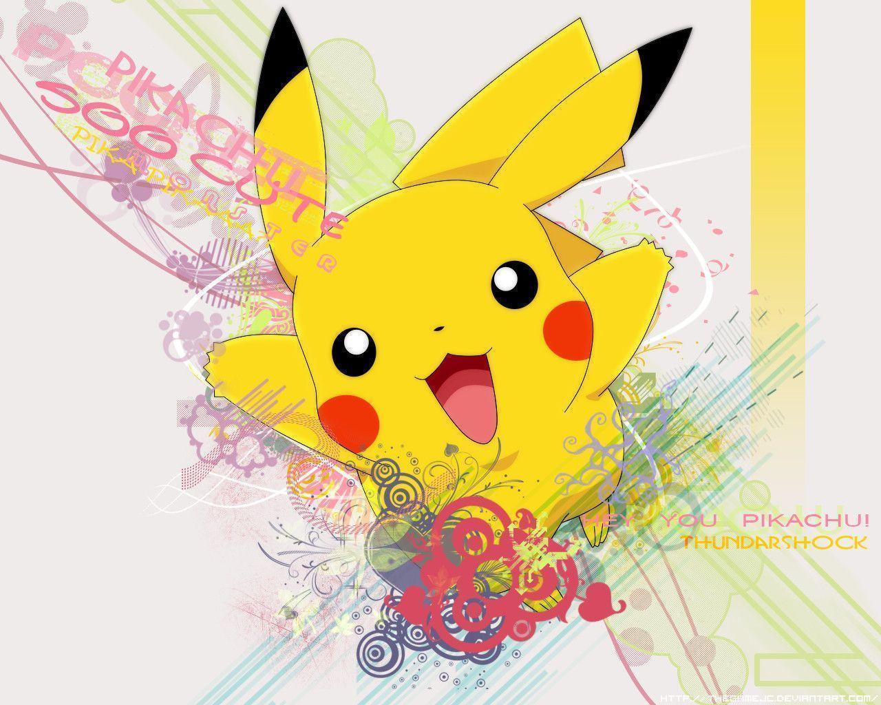 Download Pokemon Pikachu Wallpaper Hd Wallpapers 1280x1024PX