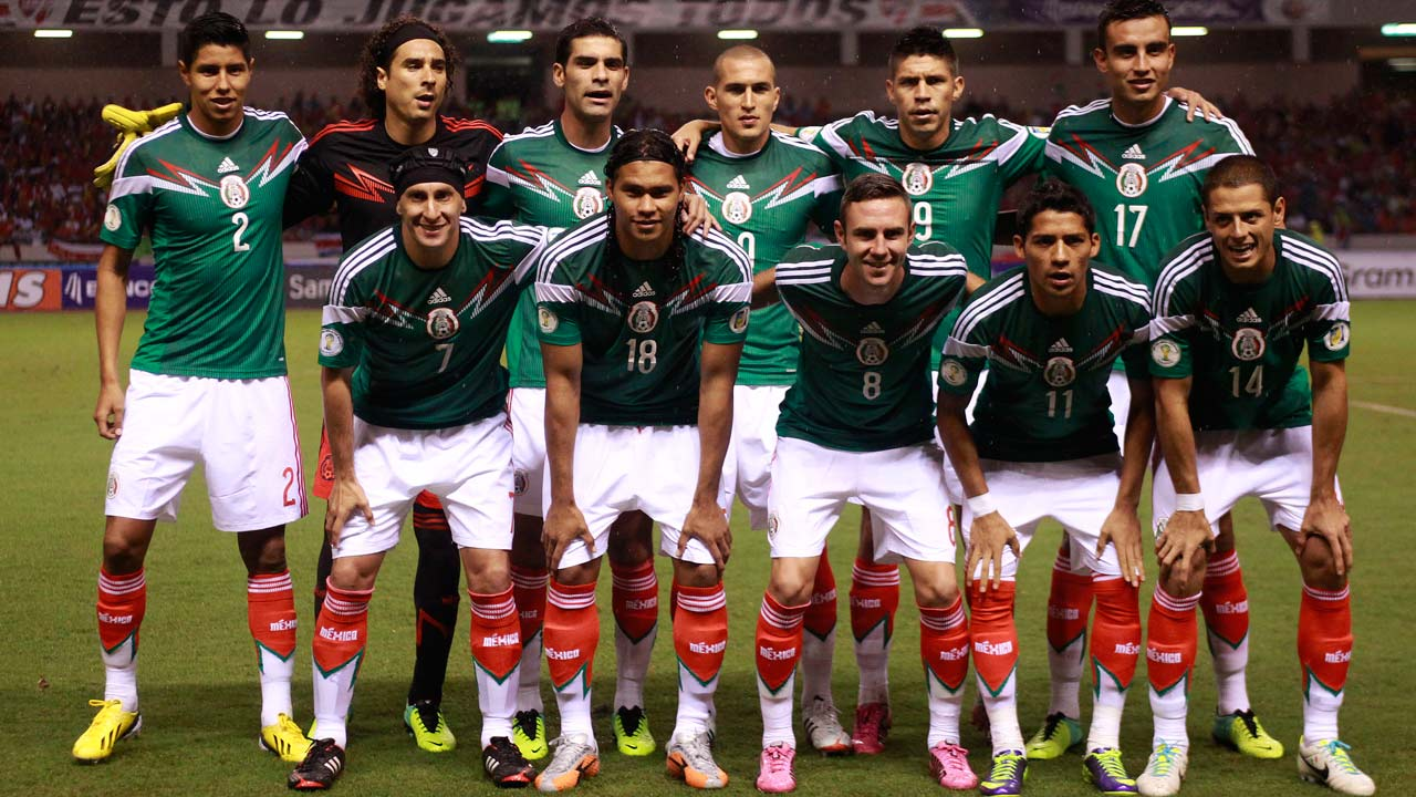 Mexico National Football Team Zoom Background 3
