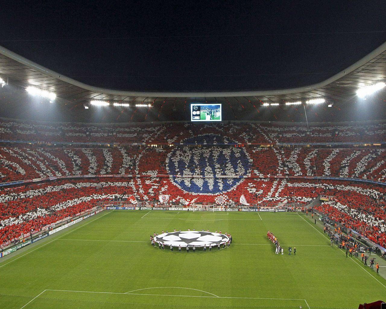 Images For > Bayern Munich Stadium Wallpaper