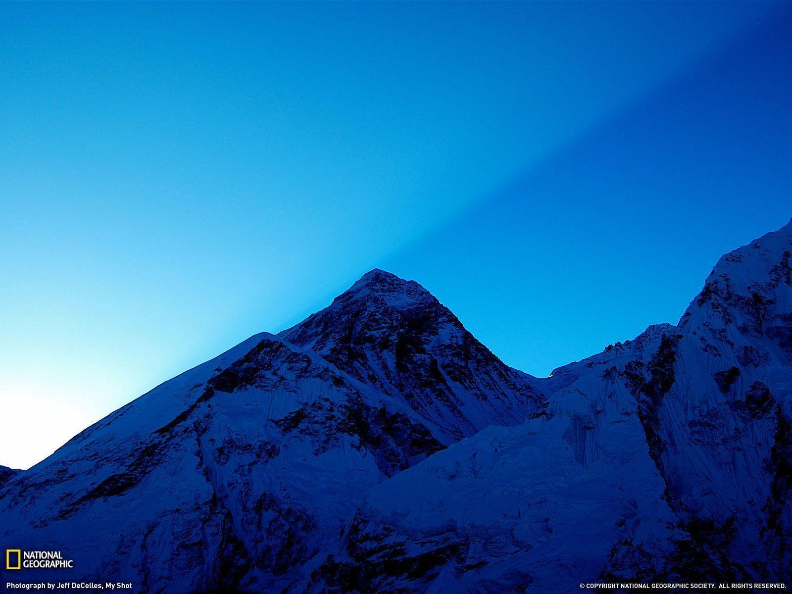 Sunrise Over Mount Everest Picture, Wallpaper - National ...