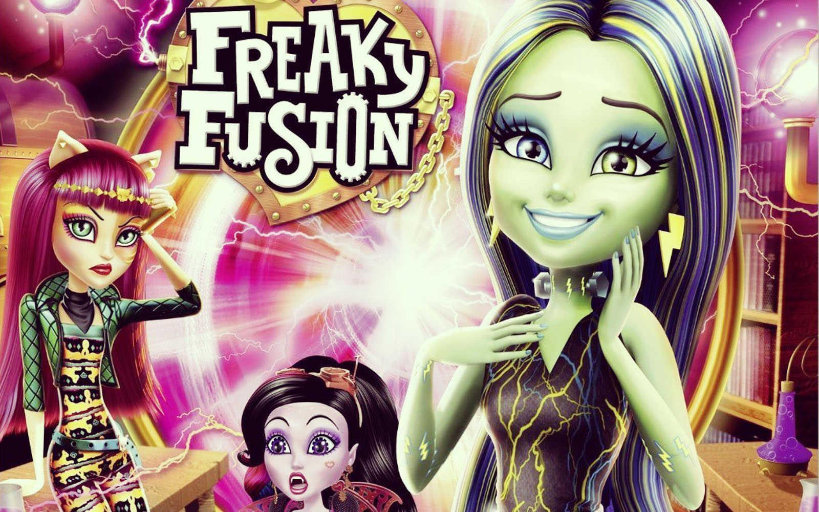 Monster High Freaky Fusion HD Wallpaper | HDWallWide